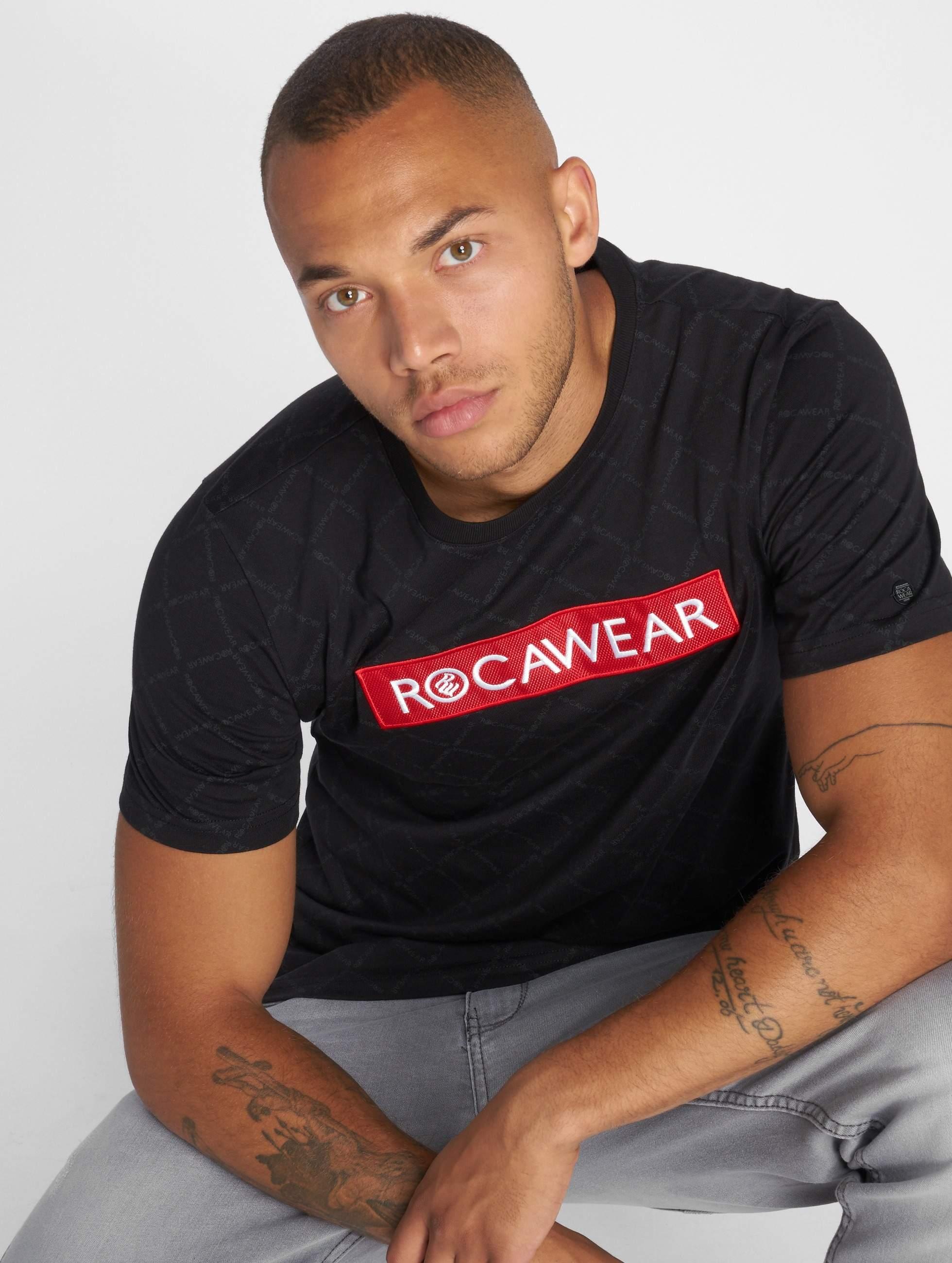 Rocawear / T-Shirt BrandLogo in black M