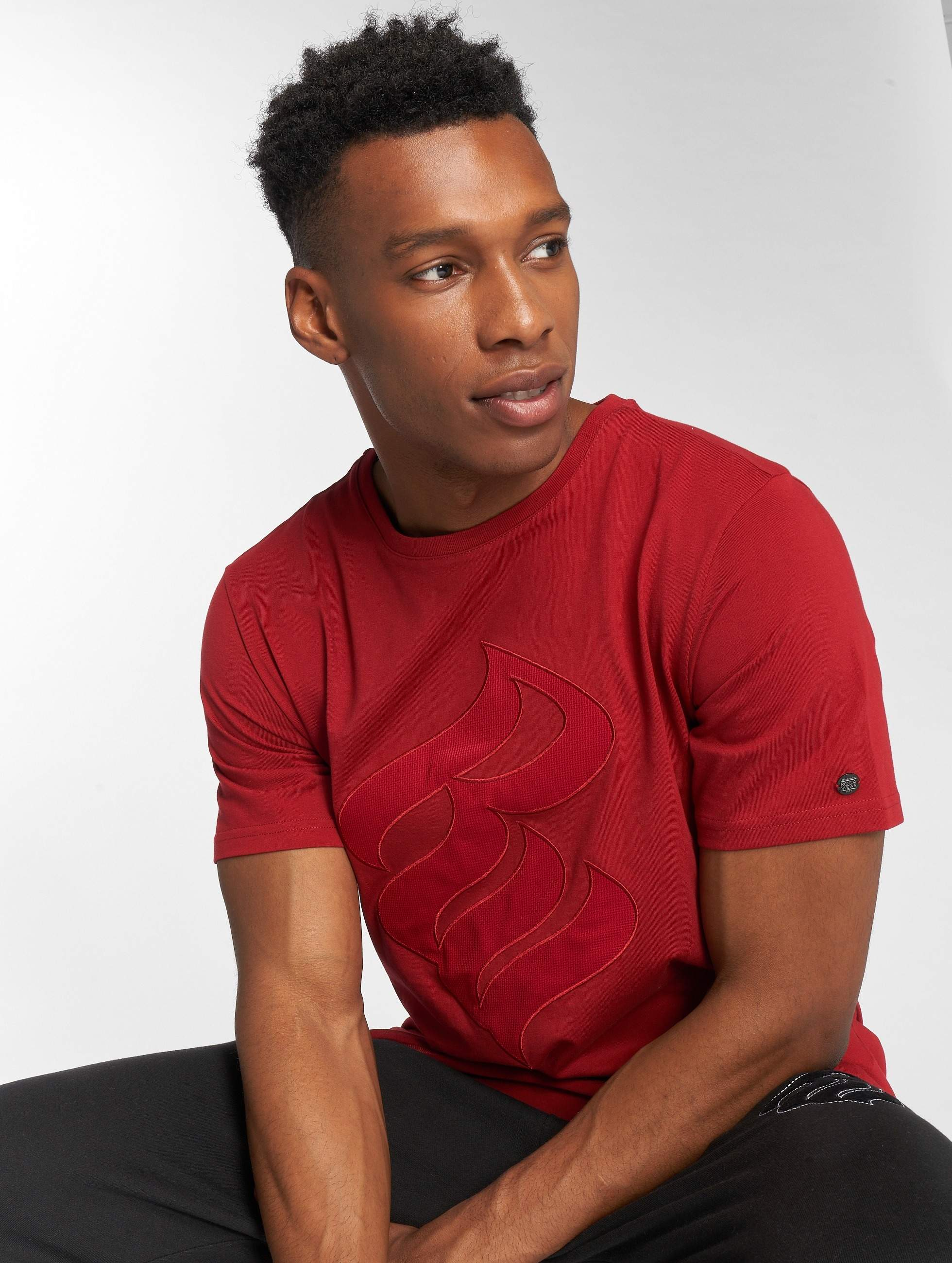 Rocawear / T-Shirt John in red M
