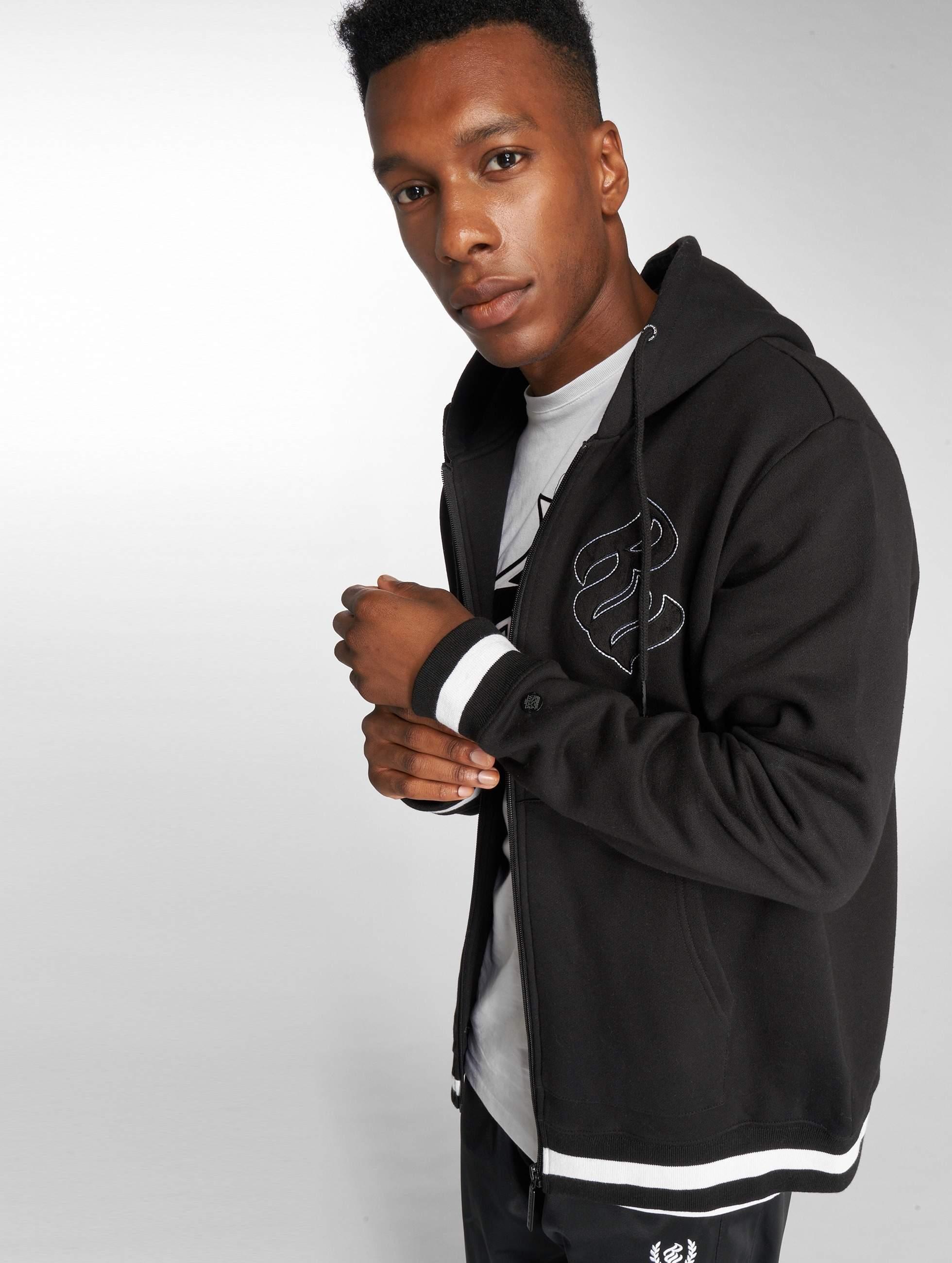 Rocawear / Zip Hoodie Logo in black 2XL