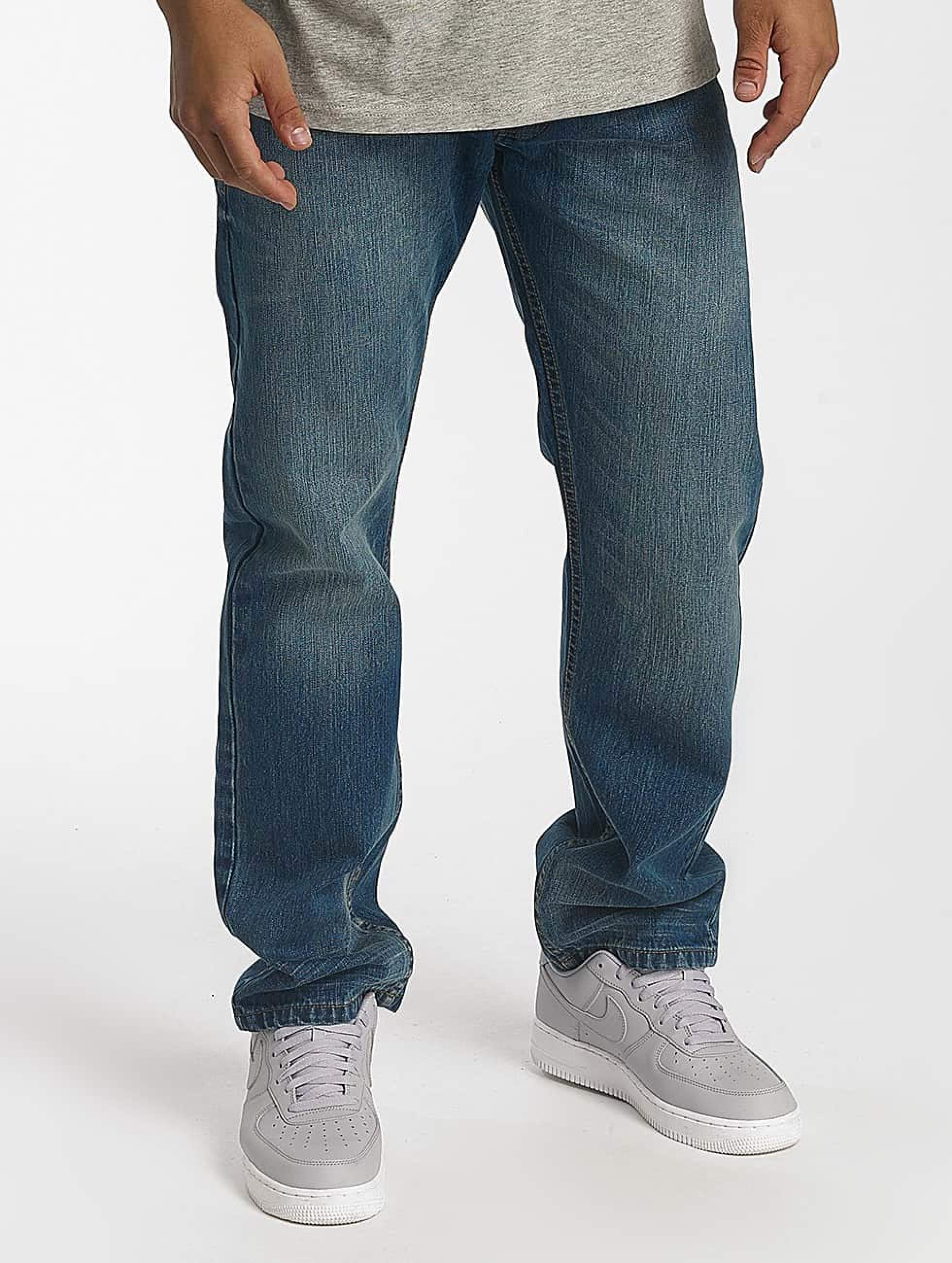 Rocawear / Straight Fit Jeans Tony Fit in blue W 38 L 34