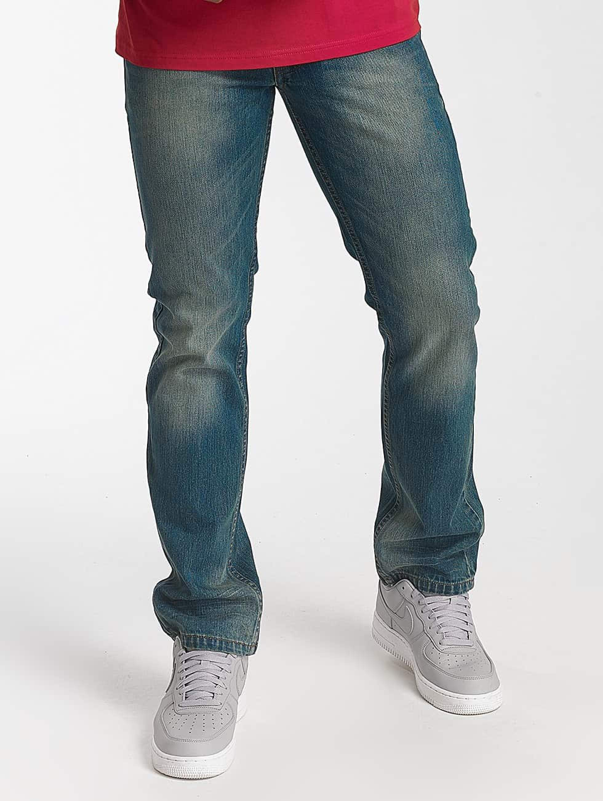 Rocawear / Straight Fit Jeans Relax Fit in blue W 31