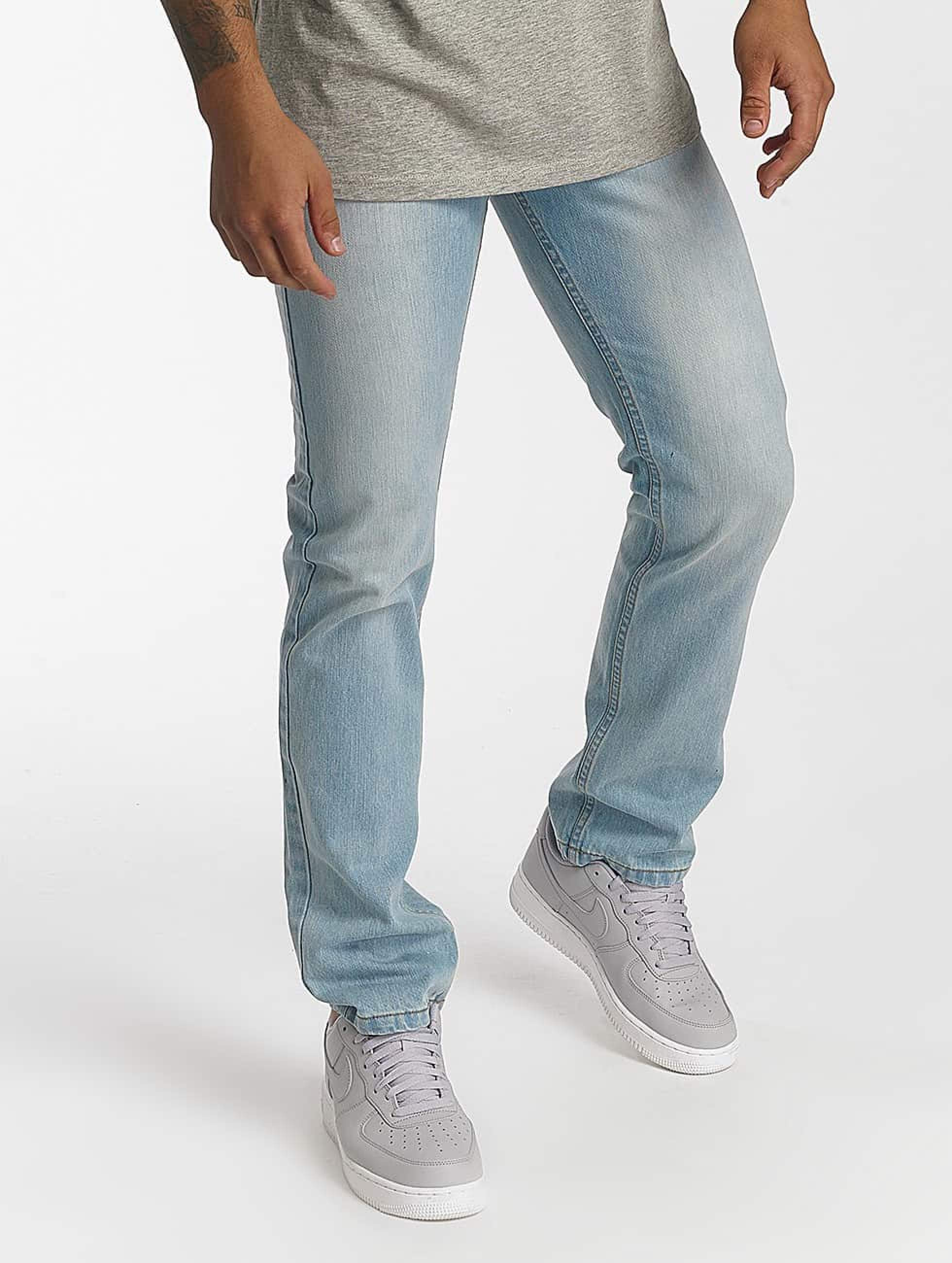 Rocawear / Straight Fit Jeans Relax Fit in blue W 42