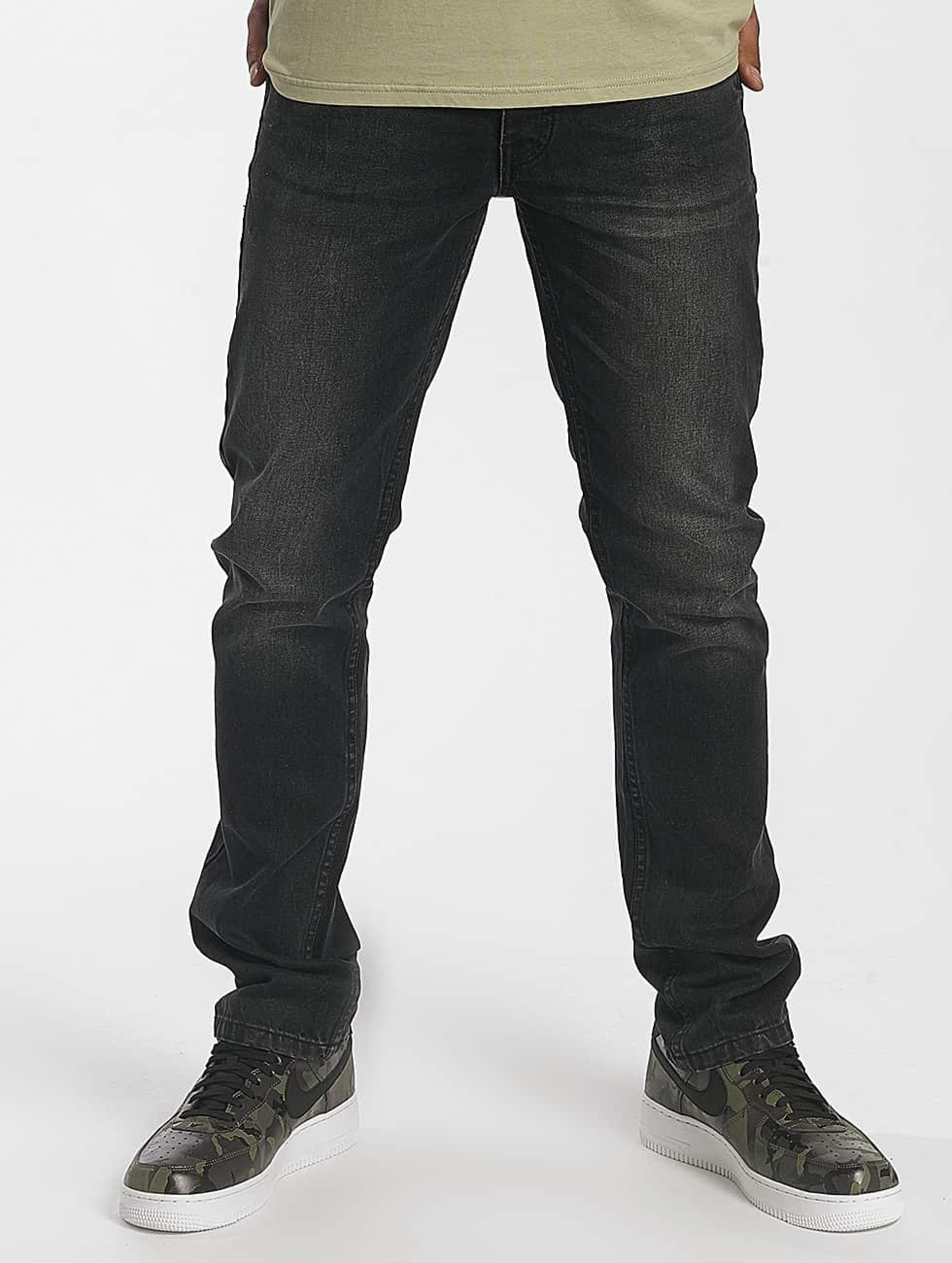 Rocawear / Straight Fit Jeans Relax Fit in black W 33