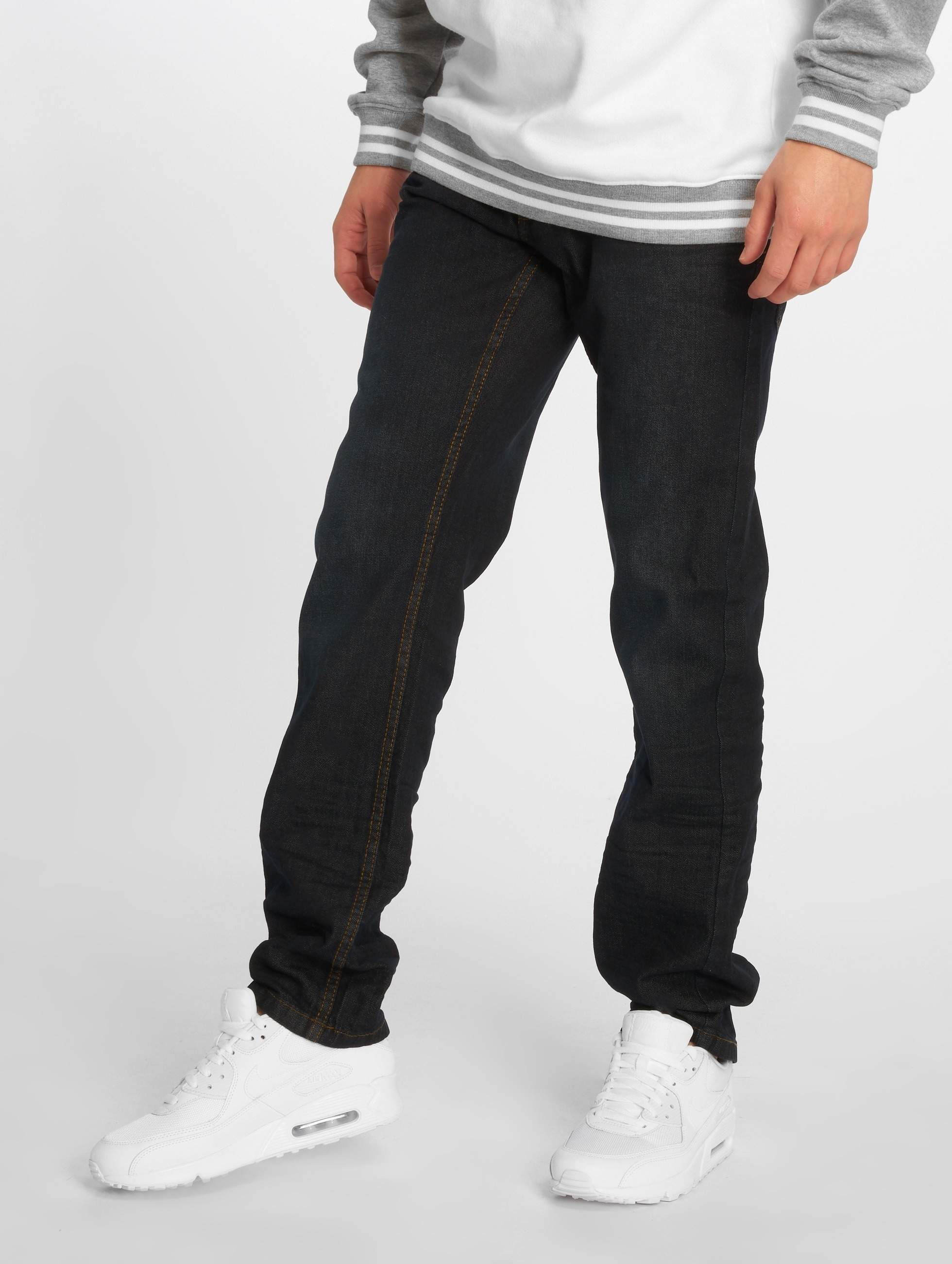 Rocawear / Straight Fit Jeans Relax Fit in blue W 32