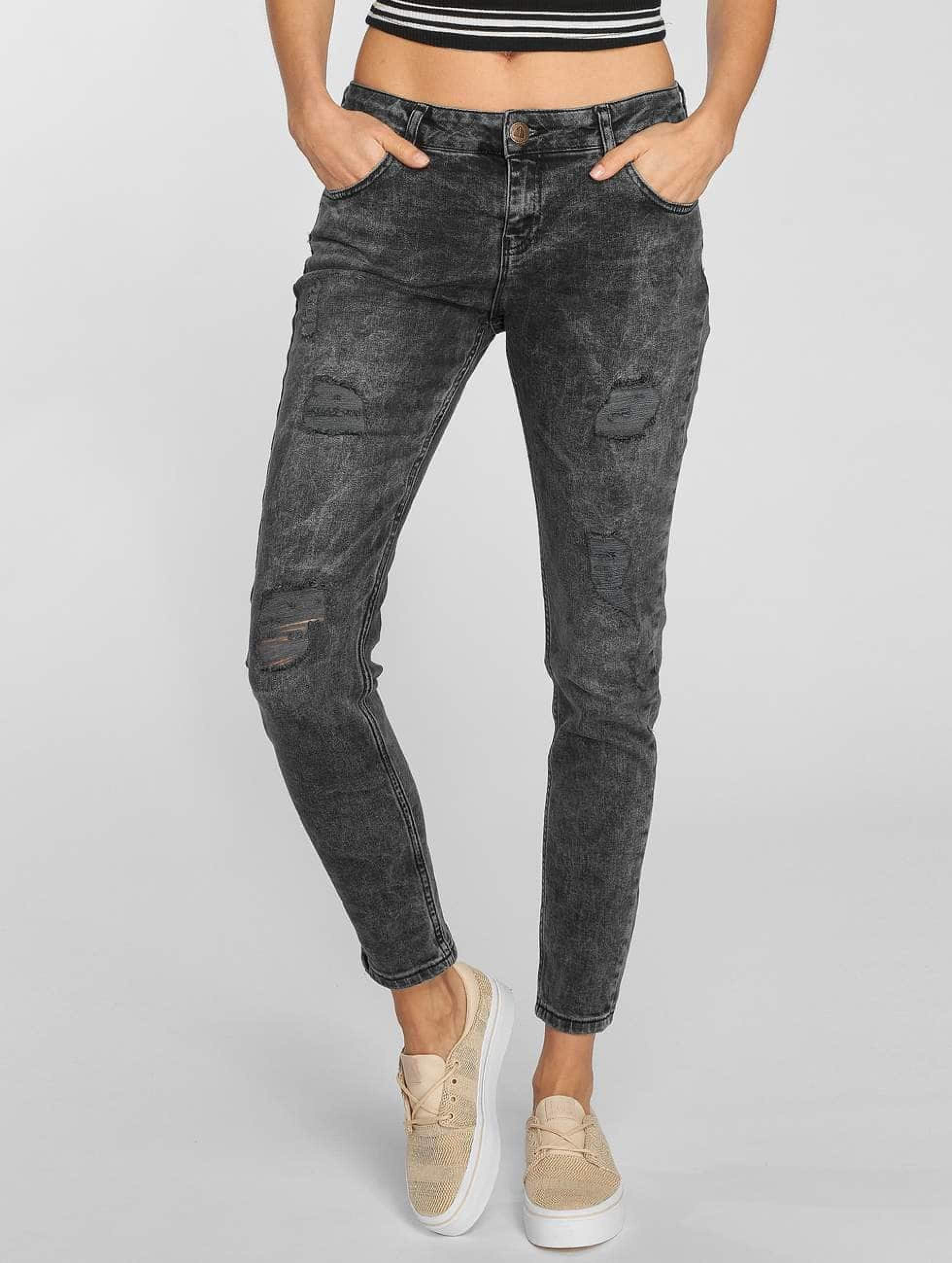 Just Rhyse / Boyfriend Jeans Bubbles in grey S