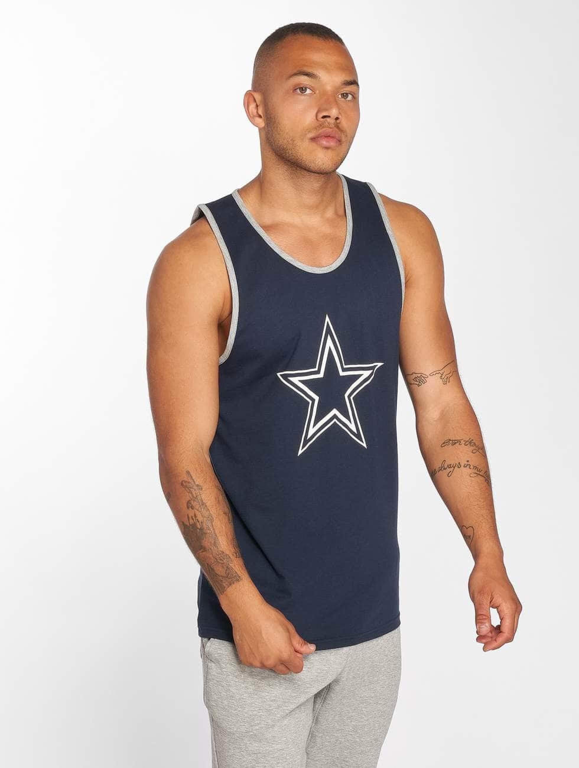 New Era Männer Tank Tops Dryera Dallas Cowboys in blau