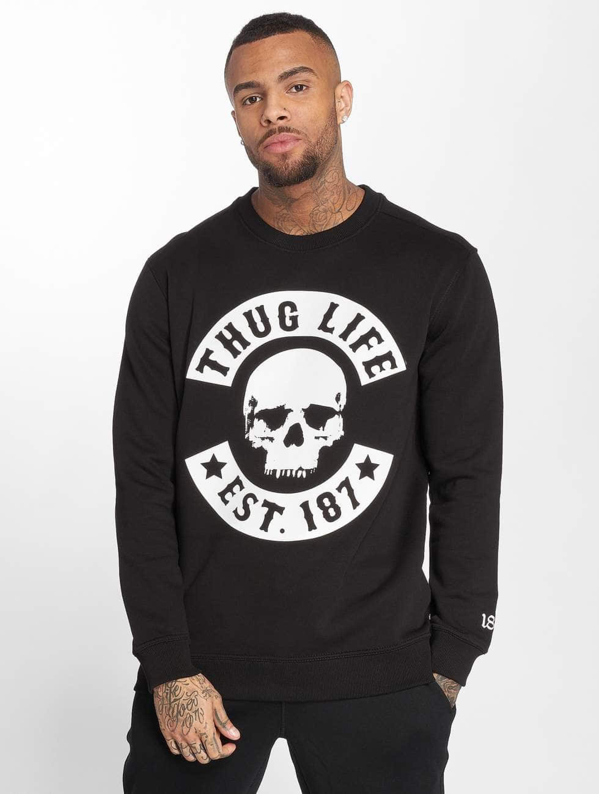 Thug Life / Jumper B.Skull in black 4XL