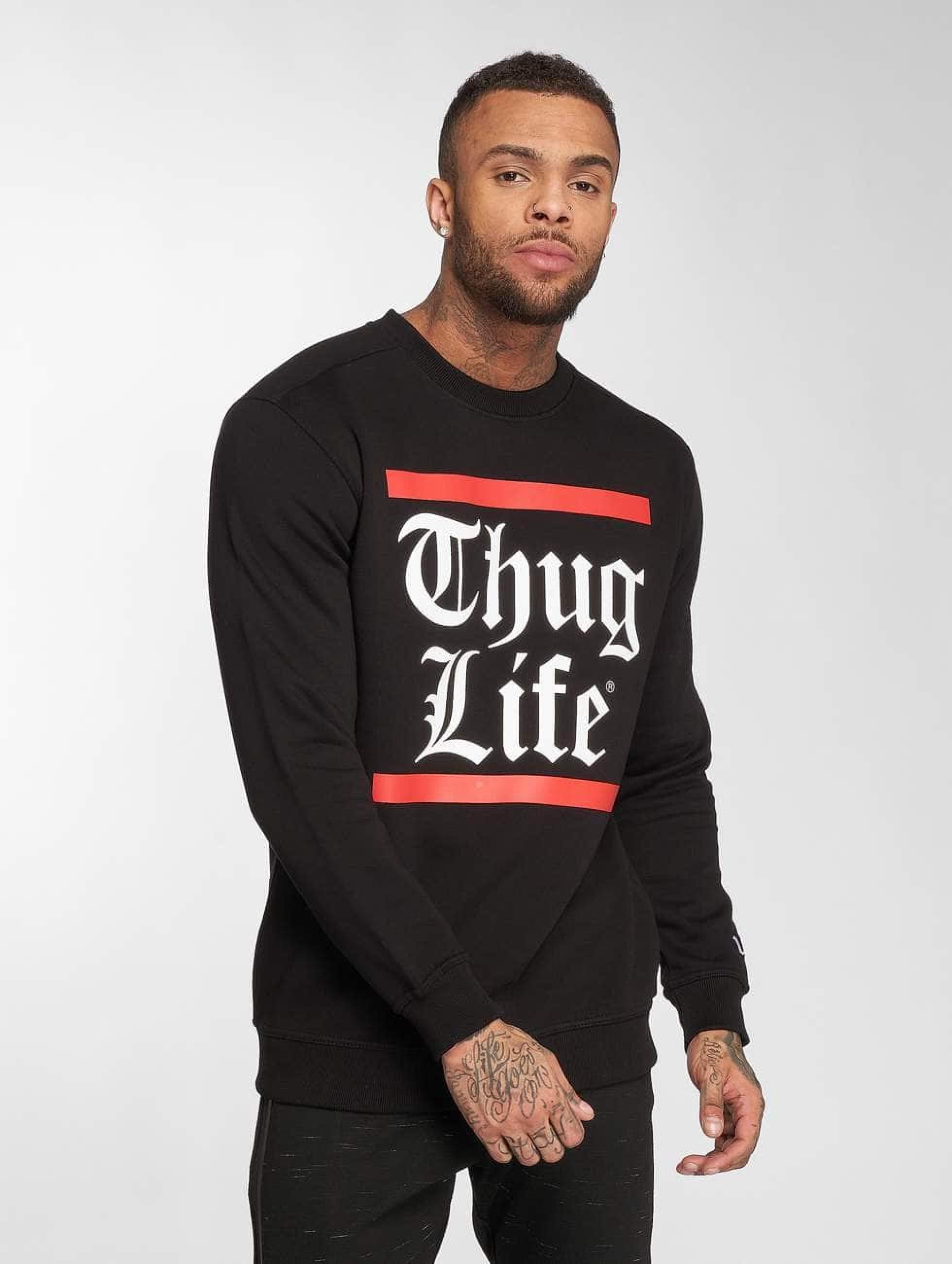 Thug Life / Jumper B.Gothic in black 4XL