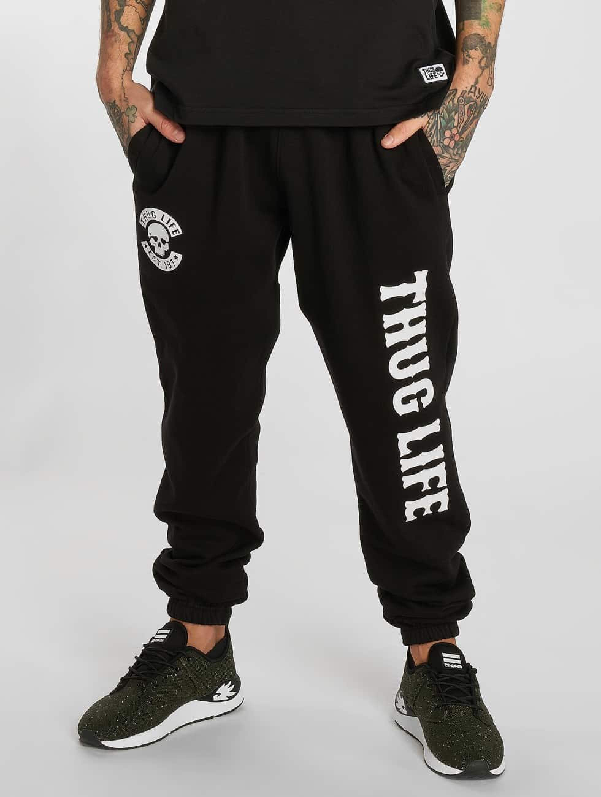 Thug Life / Sweat Pant TLSP124 in black XL