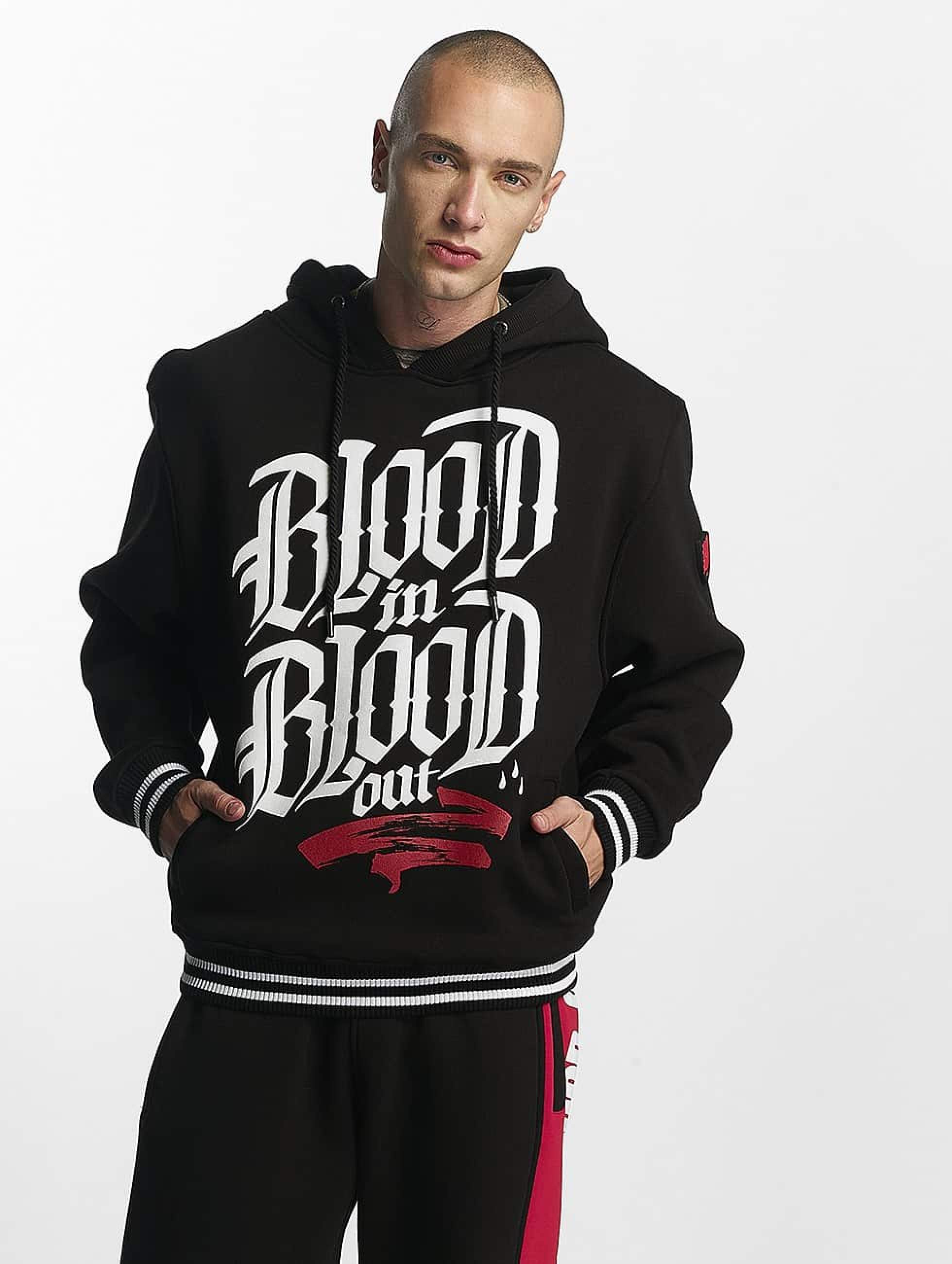 Blood In Blood Out | Logo  noir Homme Sweat capuche
