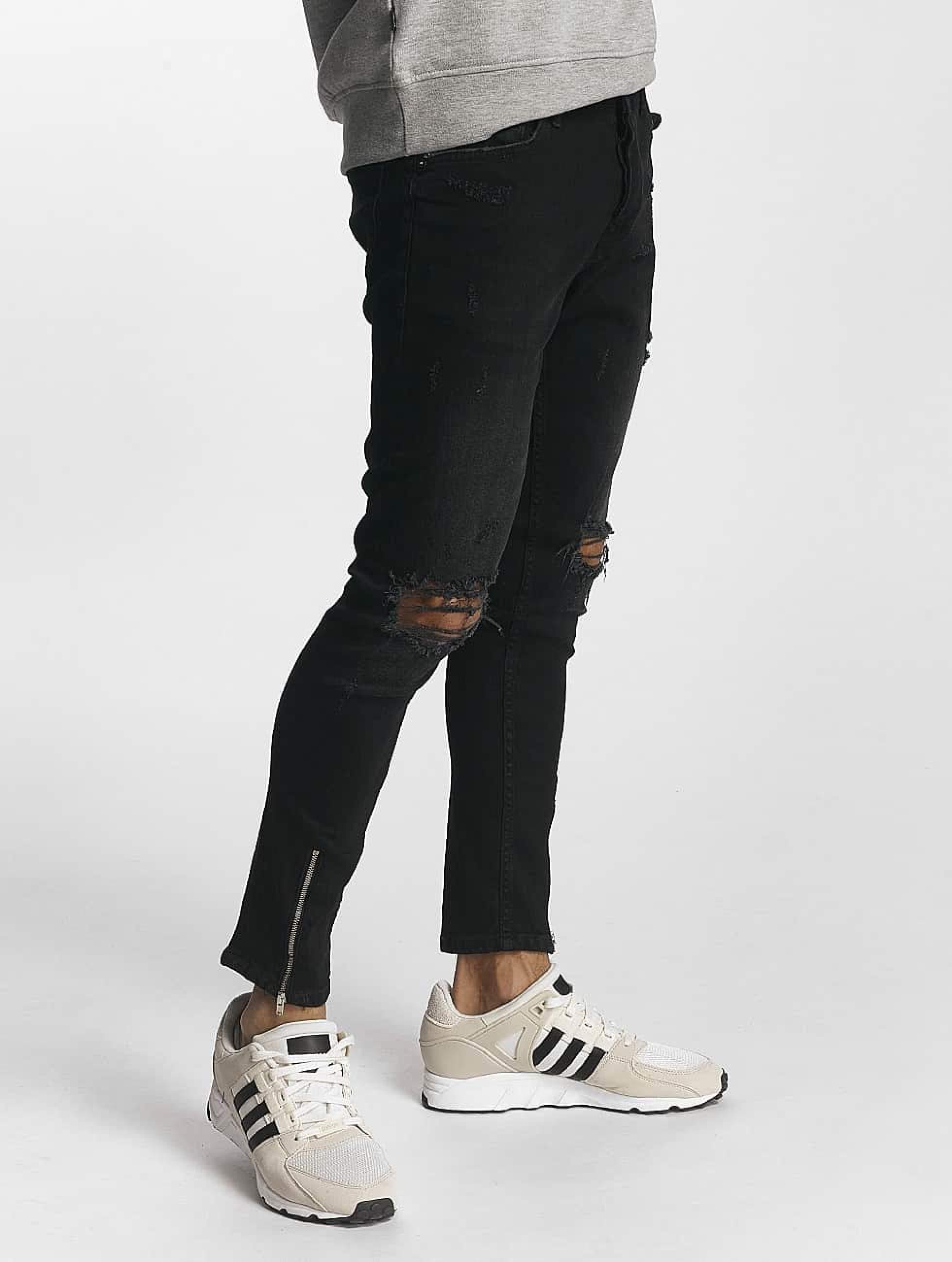 2Y / Skinny Jeans Samuel in black W 36