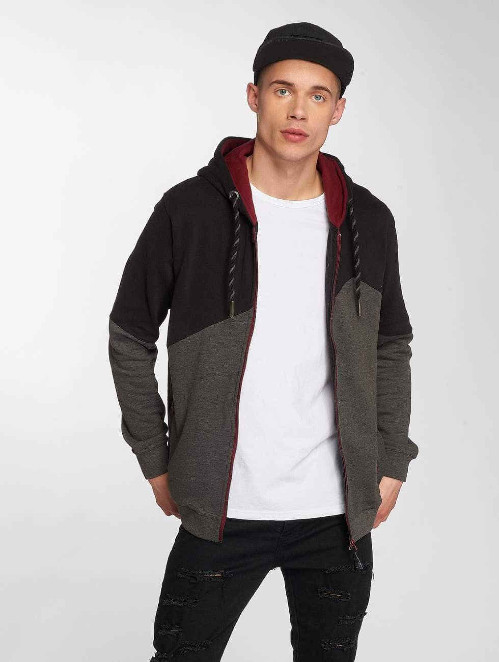 Just Rhyse / Zip Hoodie Palo Verde in black XL
