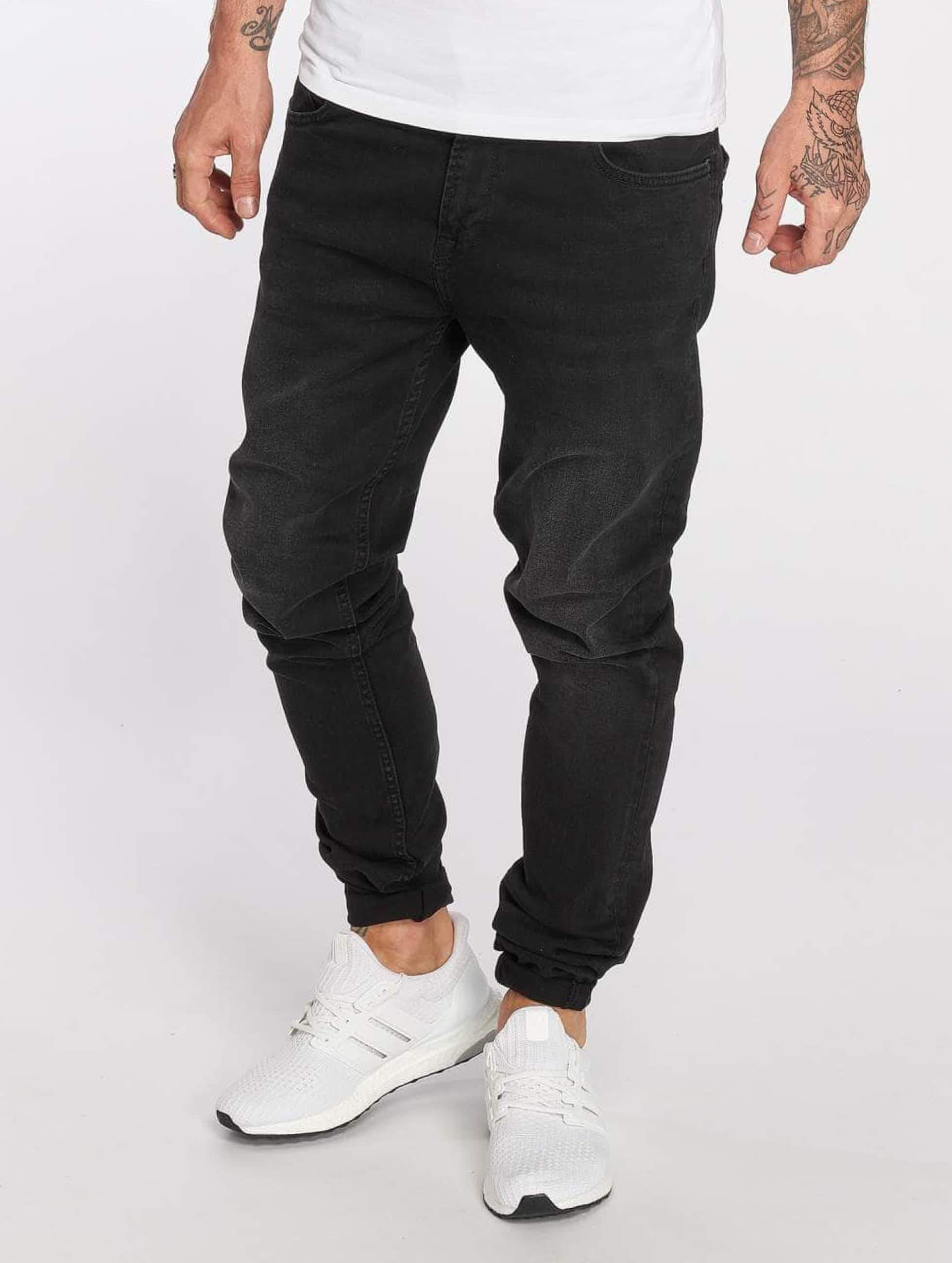 DEF / Slim Fit Jeans Holger in black W 36 L 34