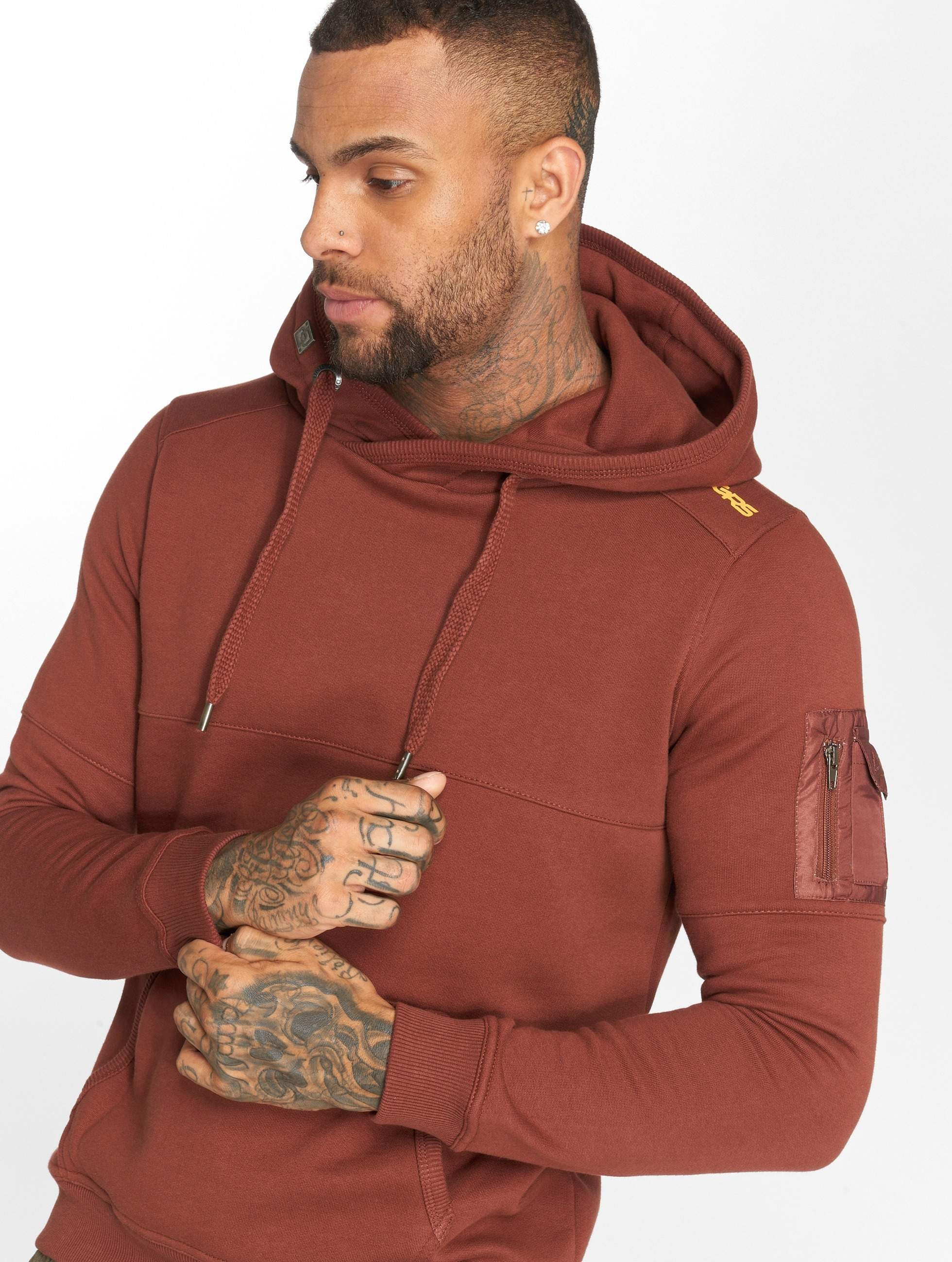 Dangerous DNGRS / Hoodie Mokoo in brown L