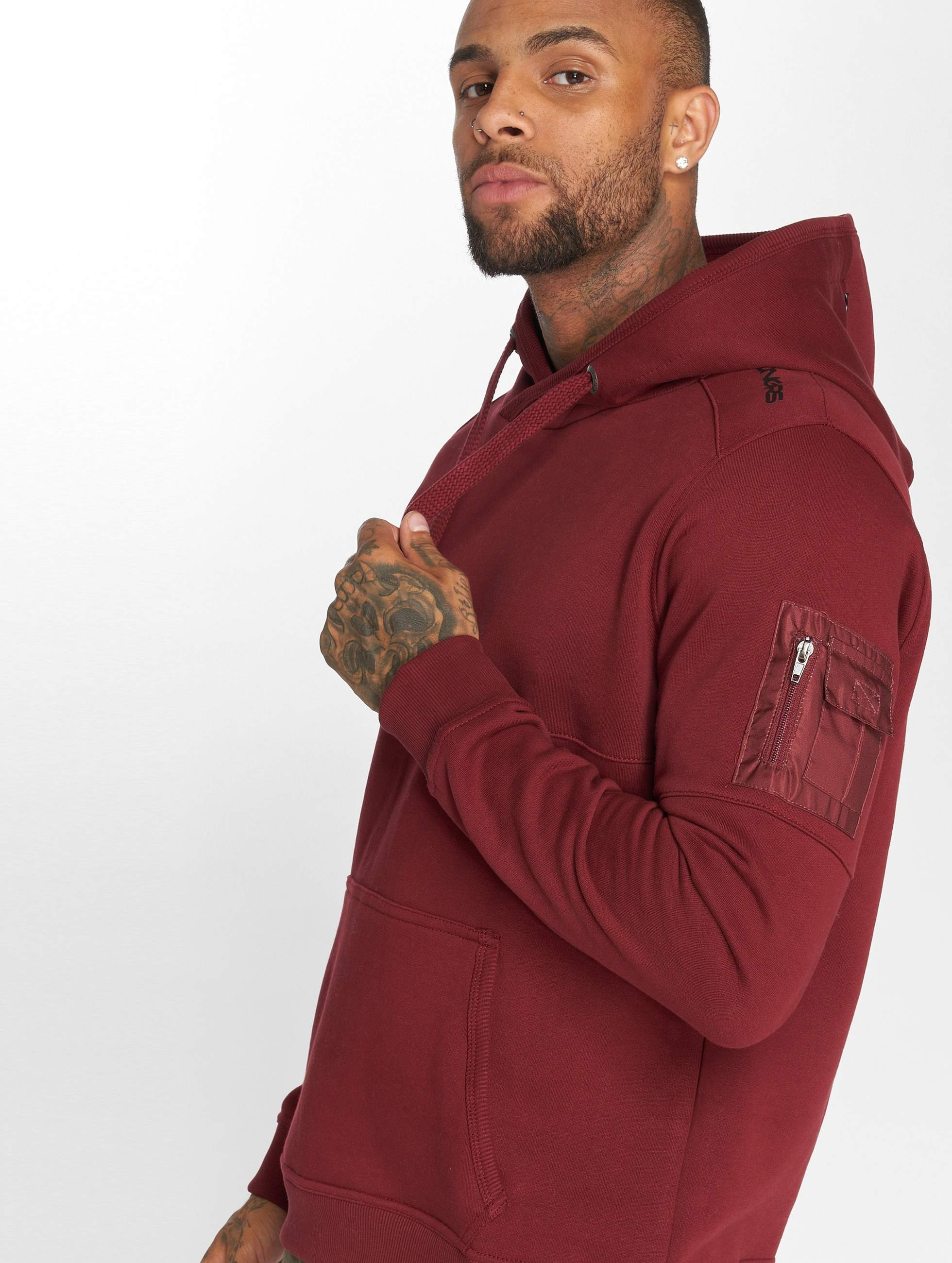 Dangerous DNGRS / Hoodie Mokoo in red 4XL