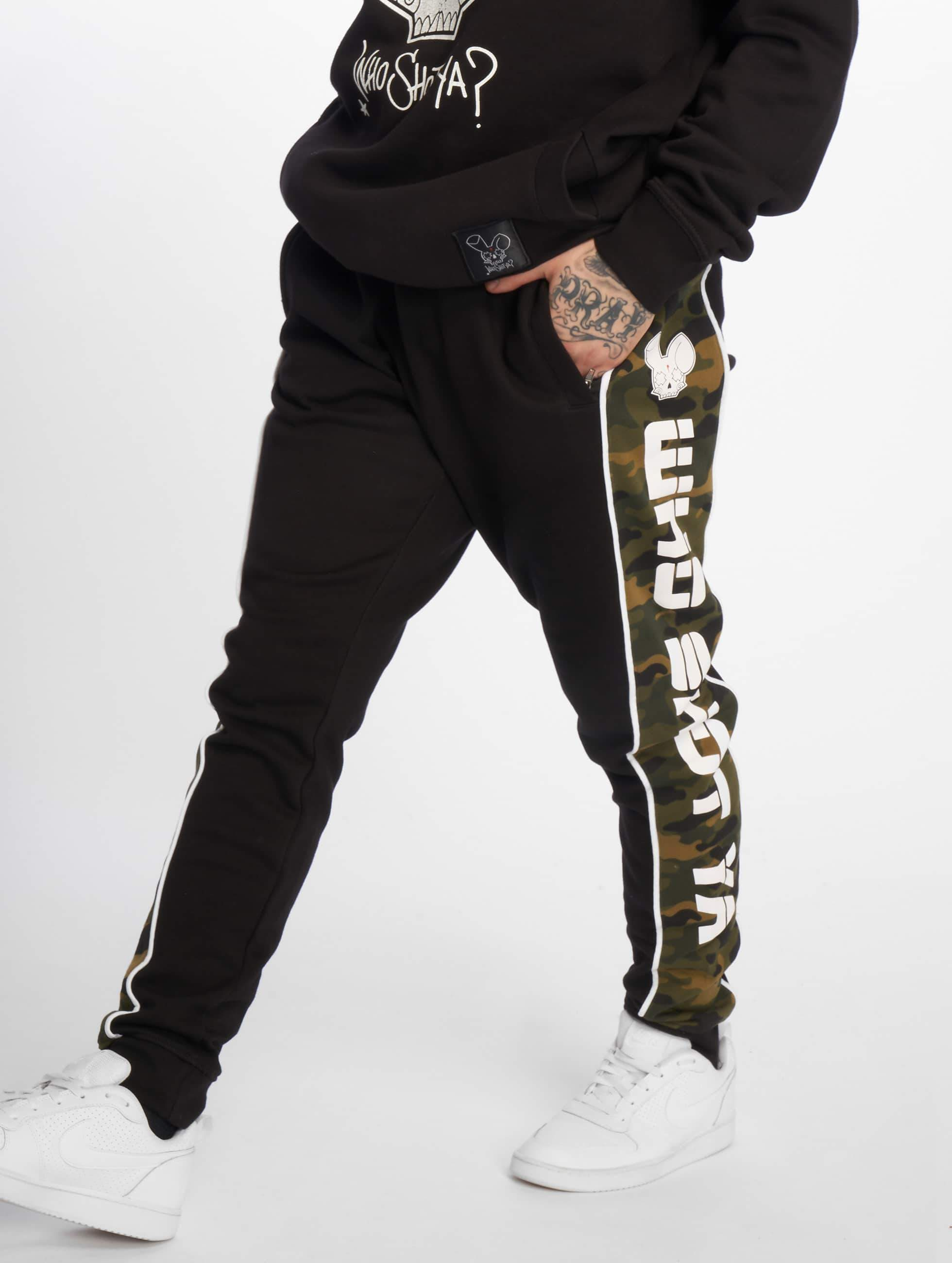 Who Shot Ya? / Sweat Pant Fat Sniper in black XL