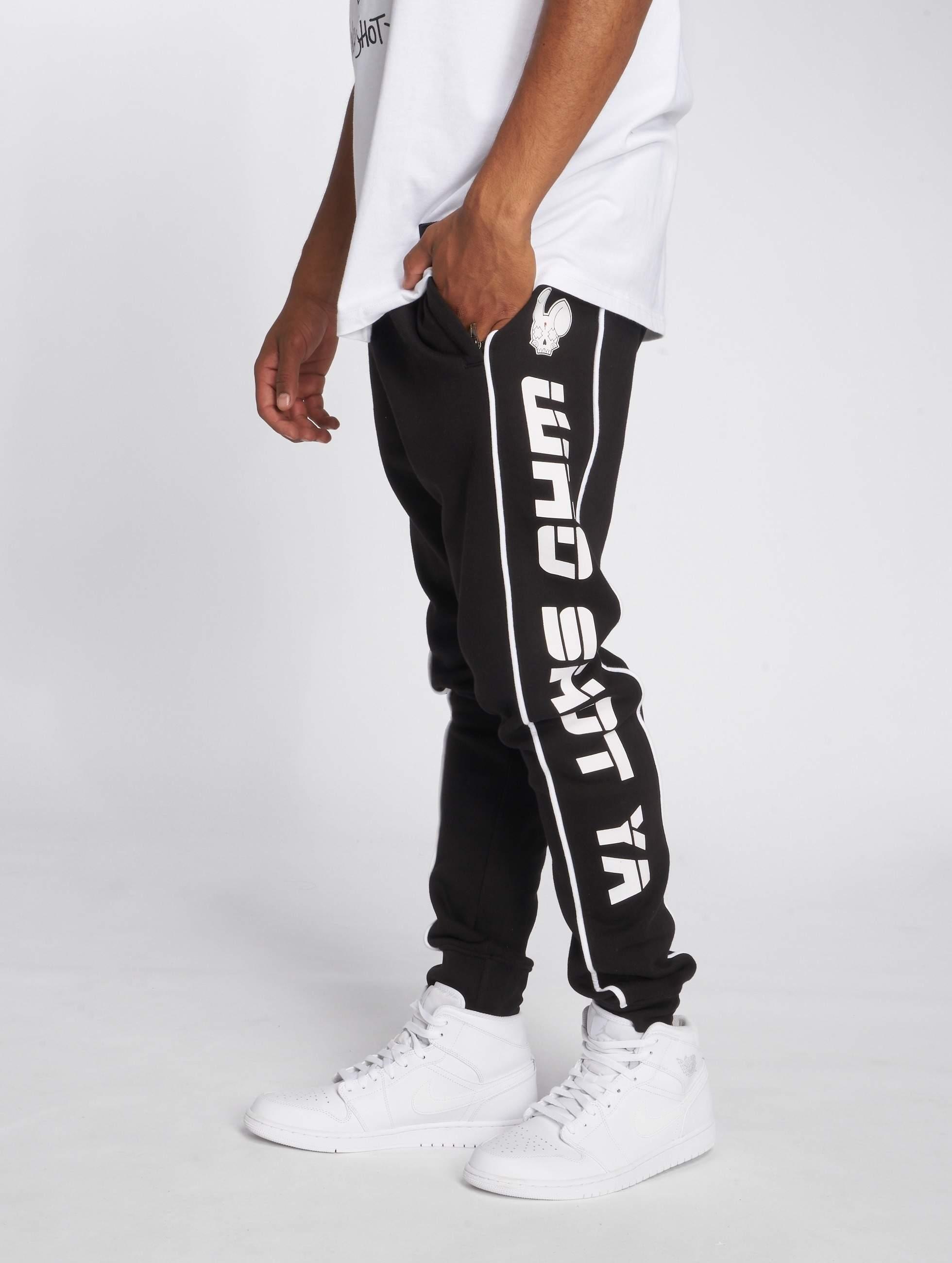 Who Shot Ya? / Sweat Pant Fat Sniper in black XL