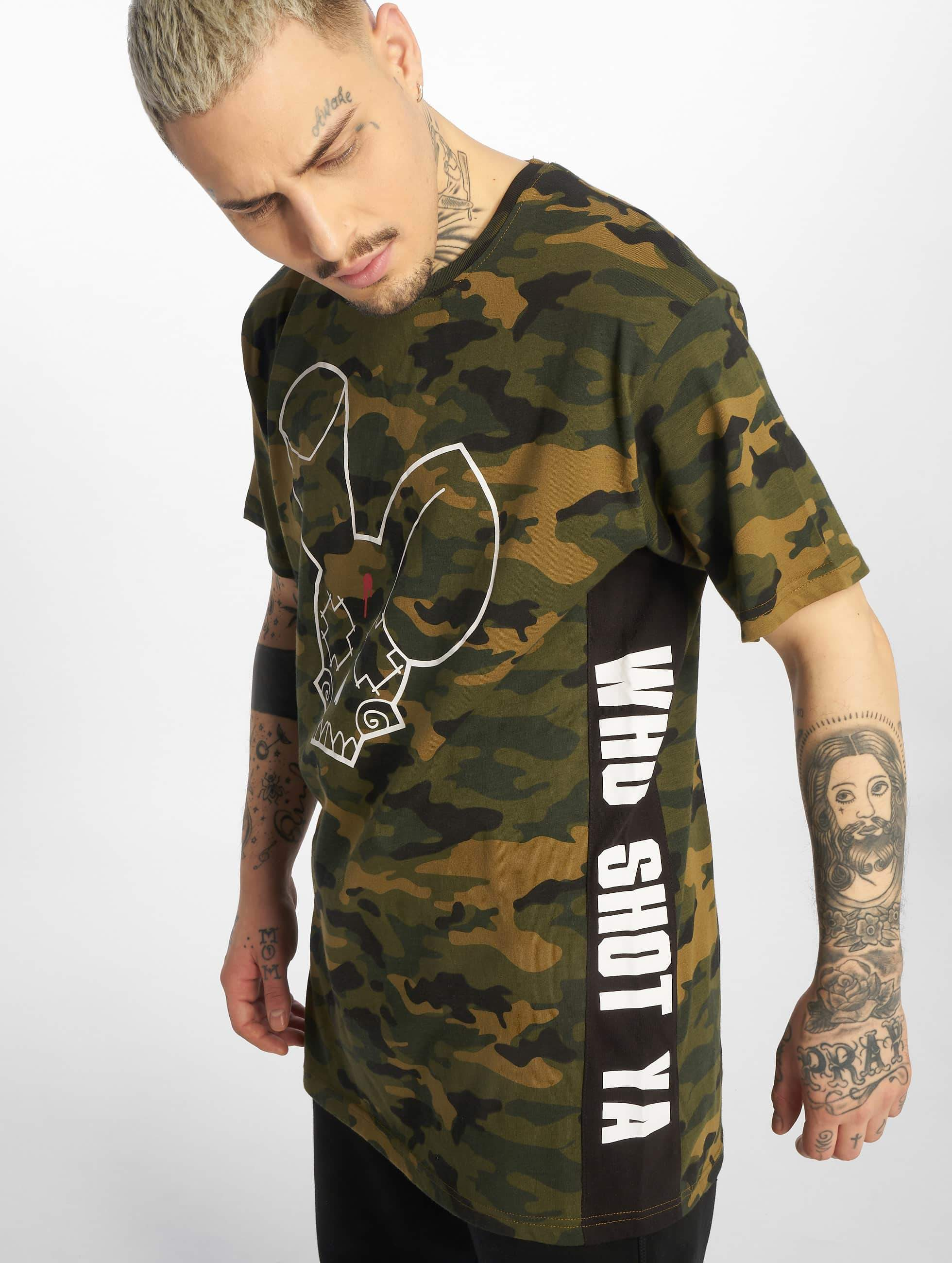Who Shot Ya? / T-Shirt Camou Funk in camouflage S