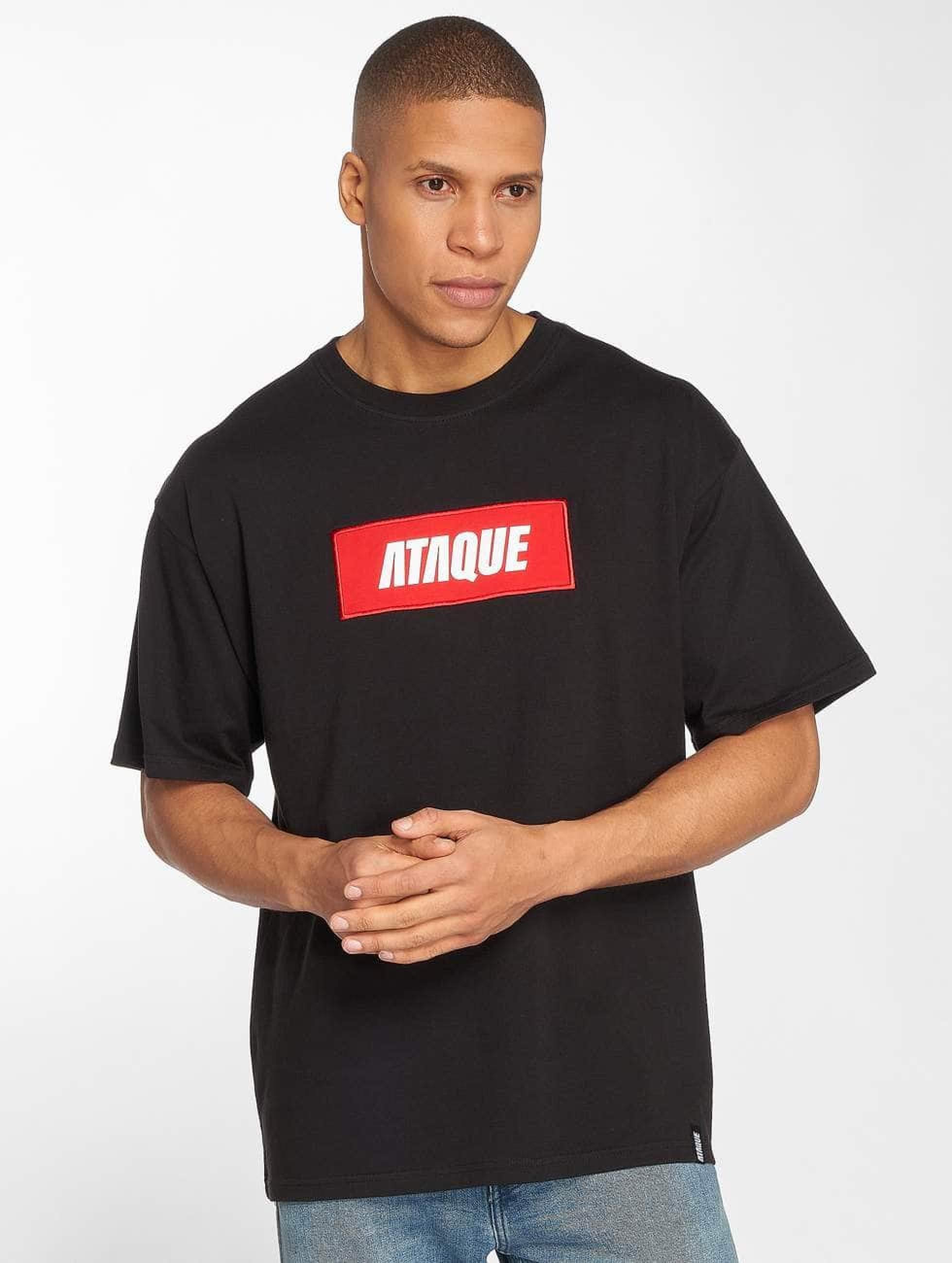 Ataque / T-Shirt Mataro in black M