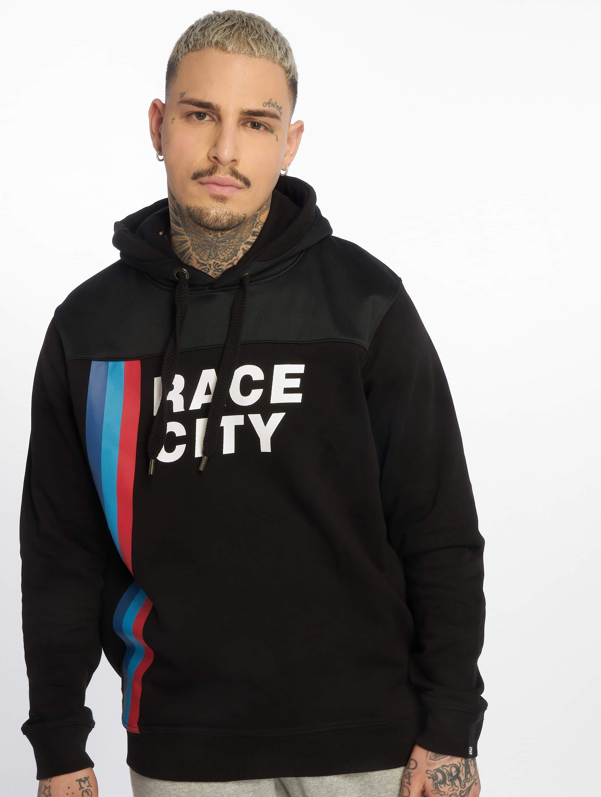 Dangerous DNGRS / Hoodie Race City MRC in black 2XL