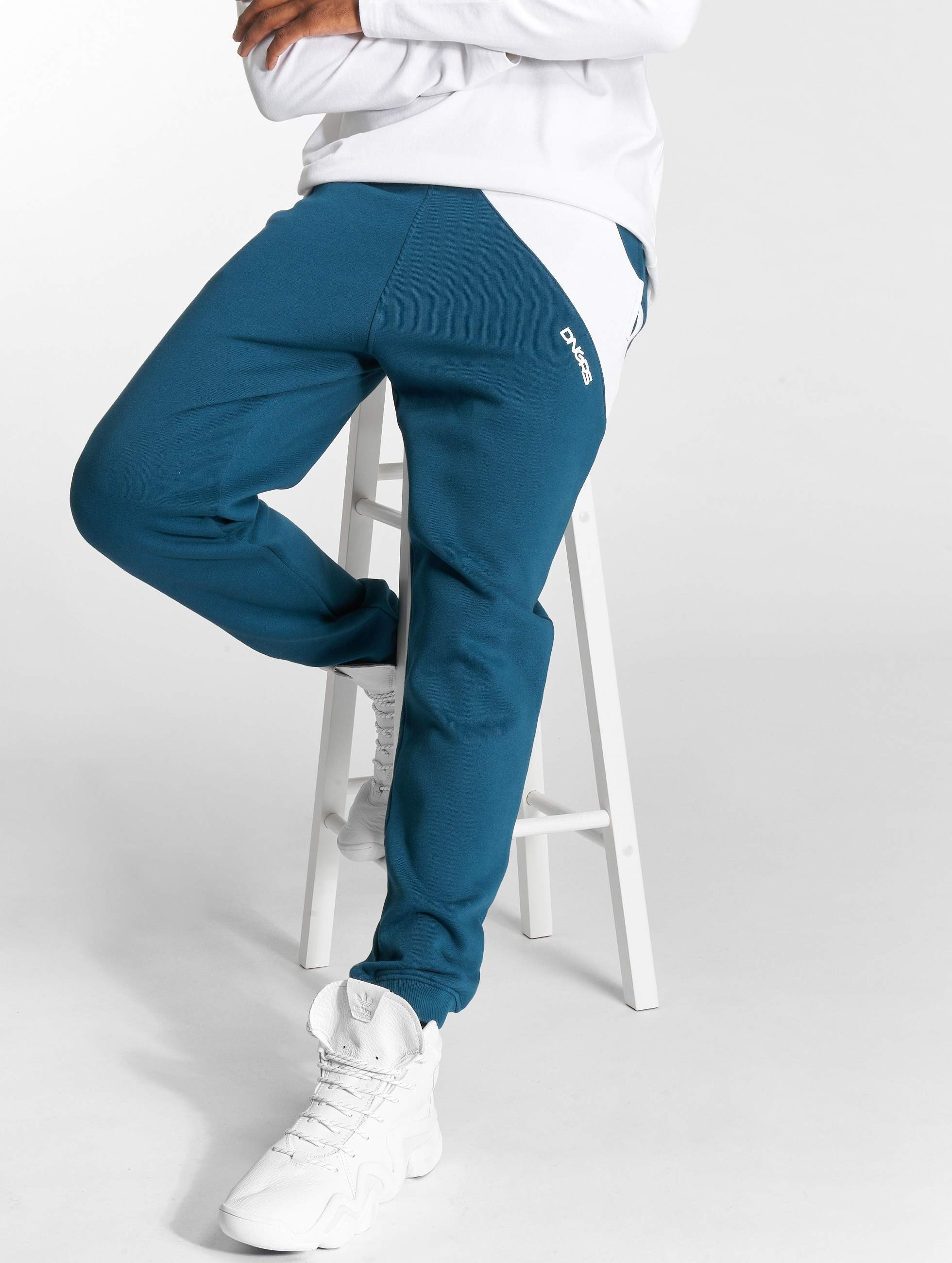 Dangerous DNGRS / Sweat Pant Skew in blue S