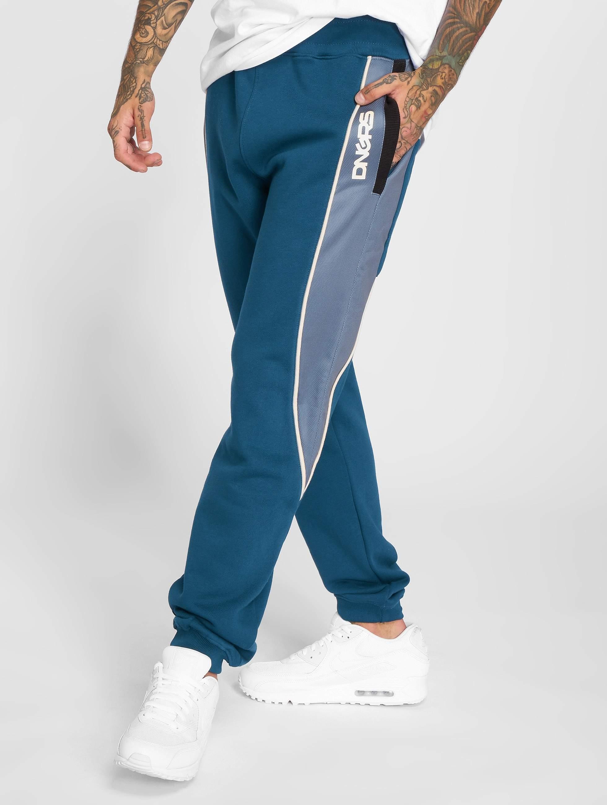 Dangerous DNGRS / Sweat Pant Thron in blue 3XL