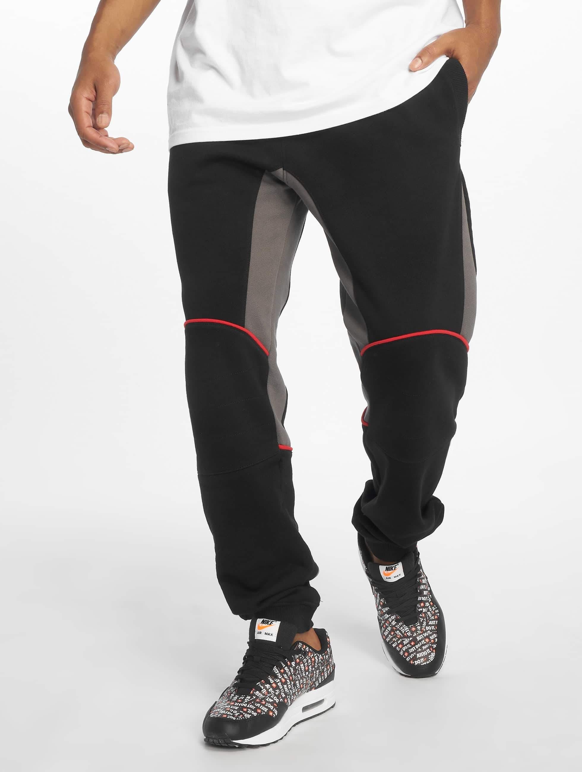 Dangerous DNGRS / Sweat Pant Romain in black XL
