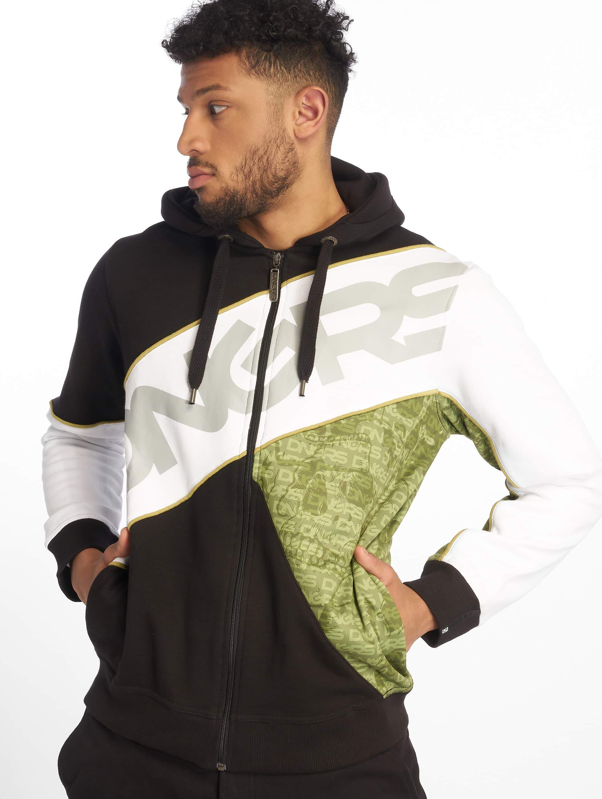 Dangerous DNGRS / Zip Hoodie DNGRS Flush in green S