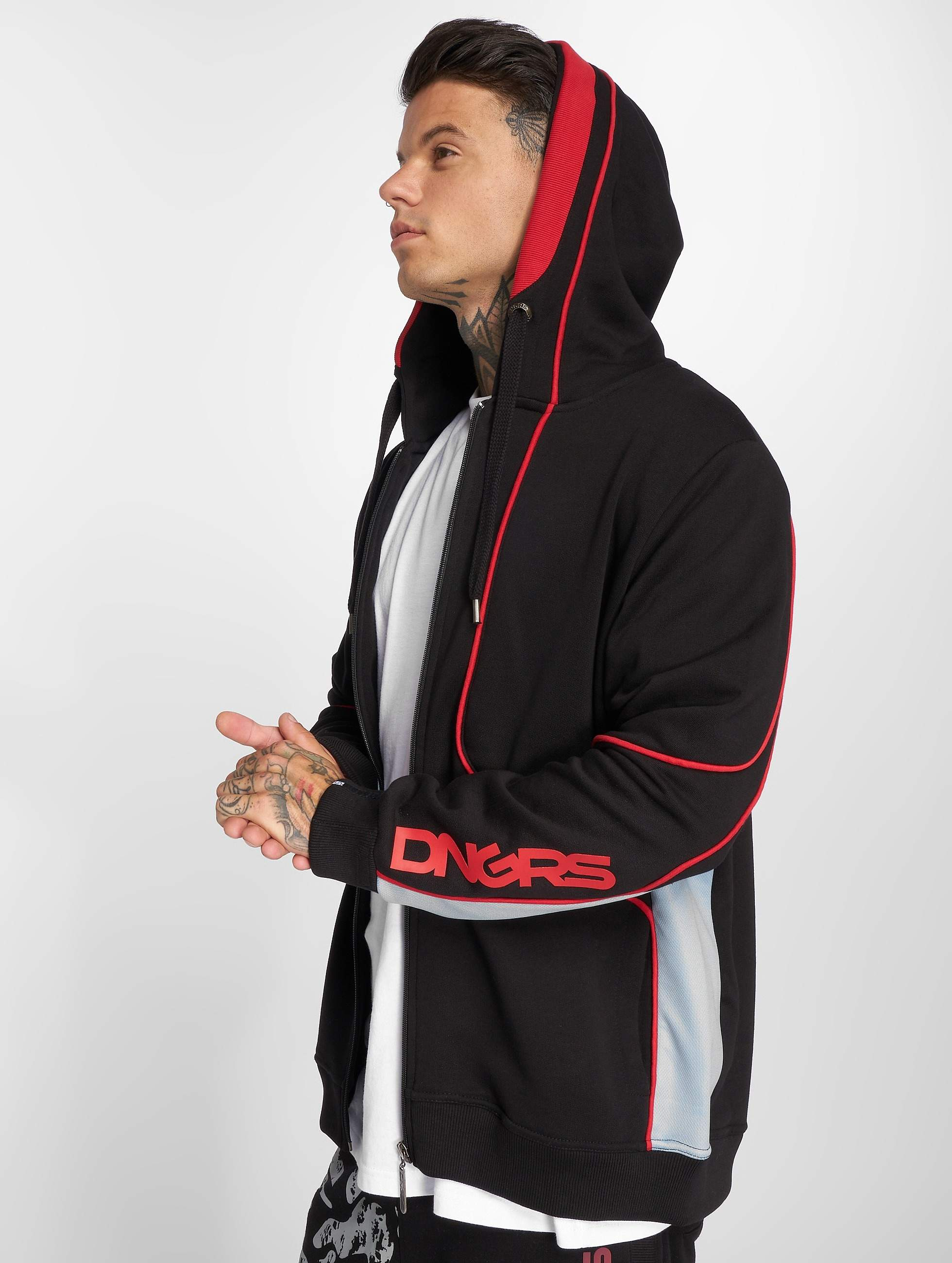 Dangerous DNGRS / Zip Hoodie Thron in black M