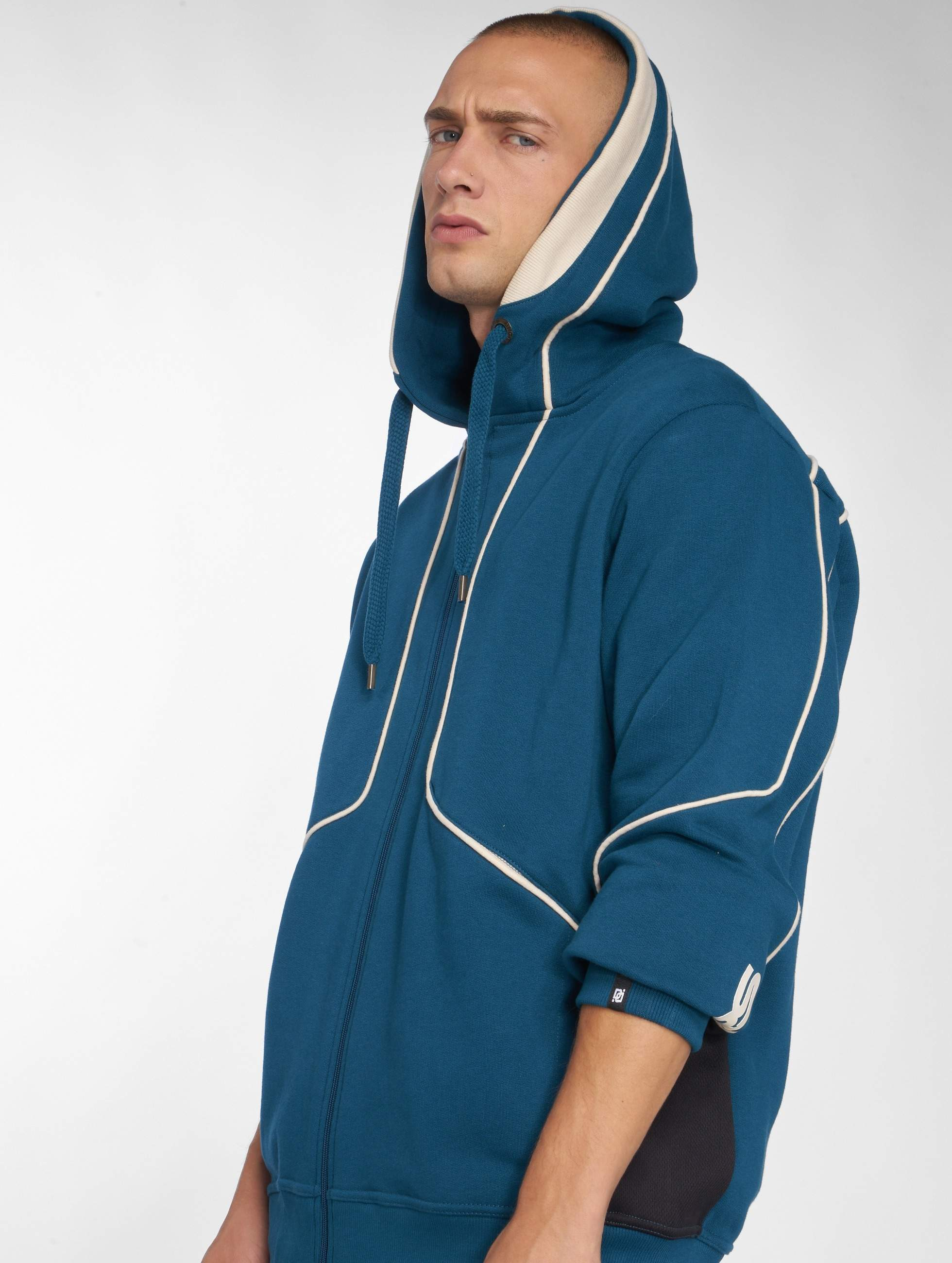 Dangerous DNGRS / Zip Hoodie Thron in blue 2XL
