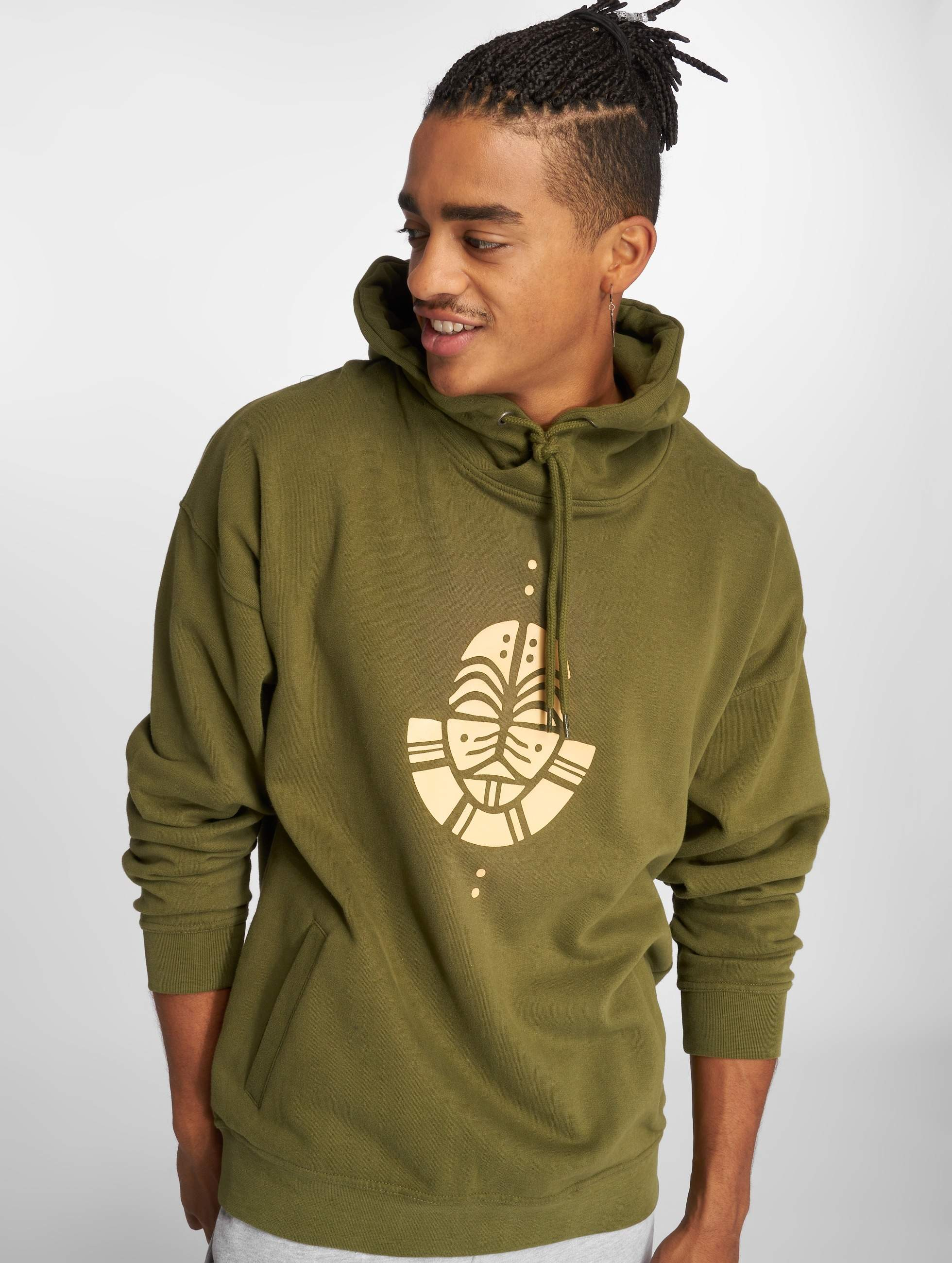 Just Rhyse / Hoodie Illimani in olive XL