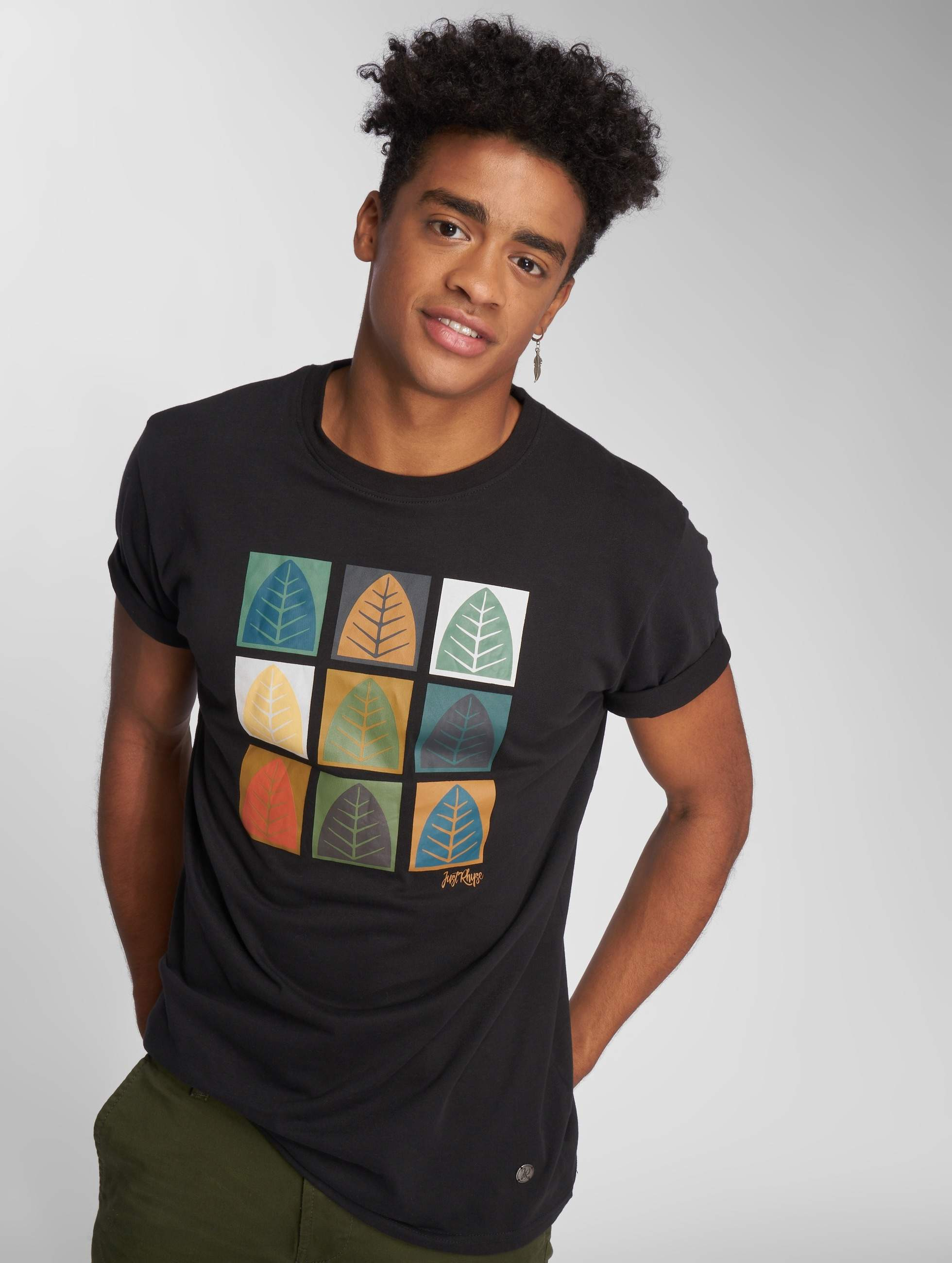 Just Rhyse / T-Shirt Rhyser in black L