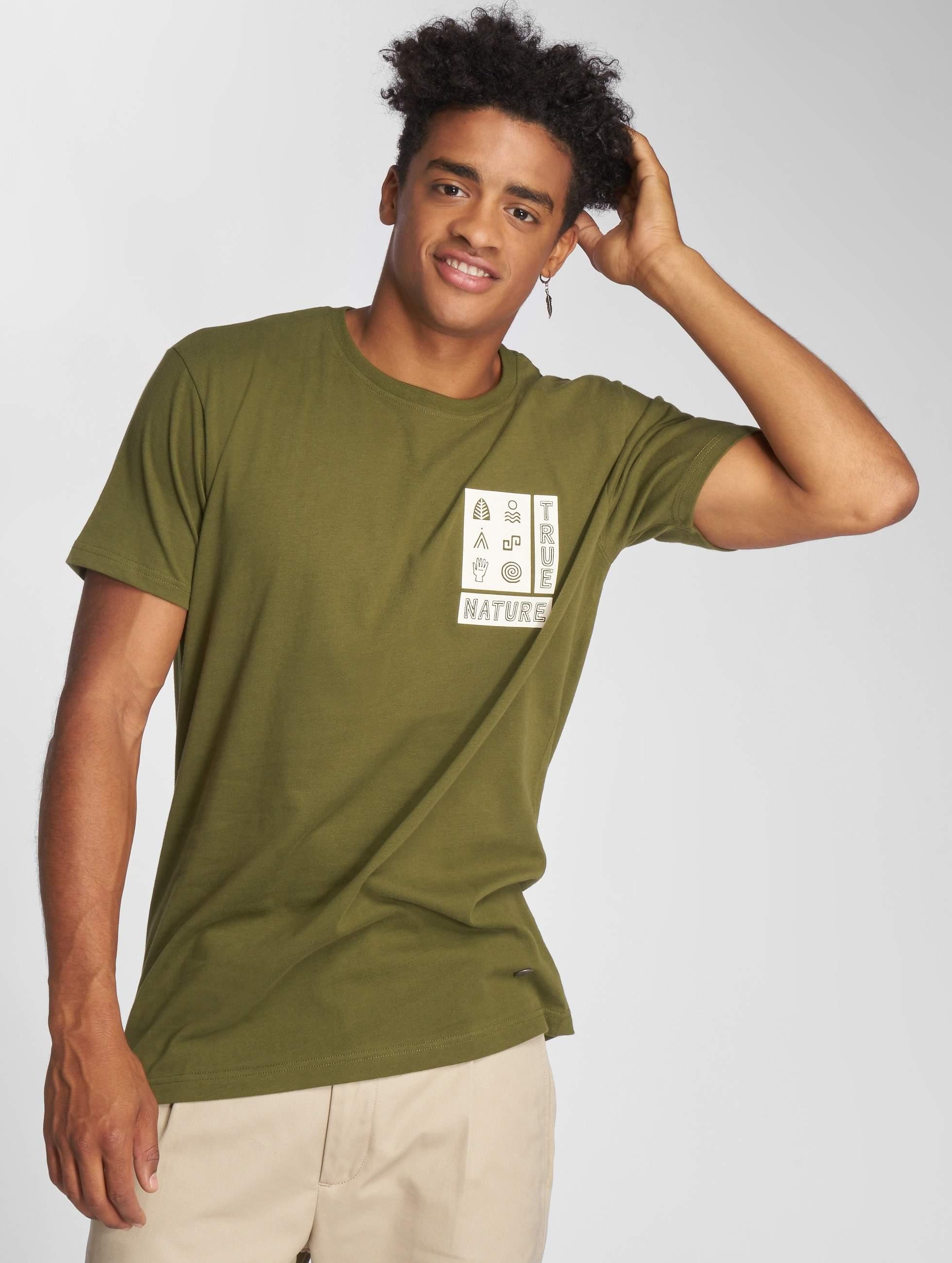 Just Rhyse / T-Shirt Ticatica in olive L