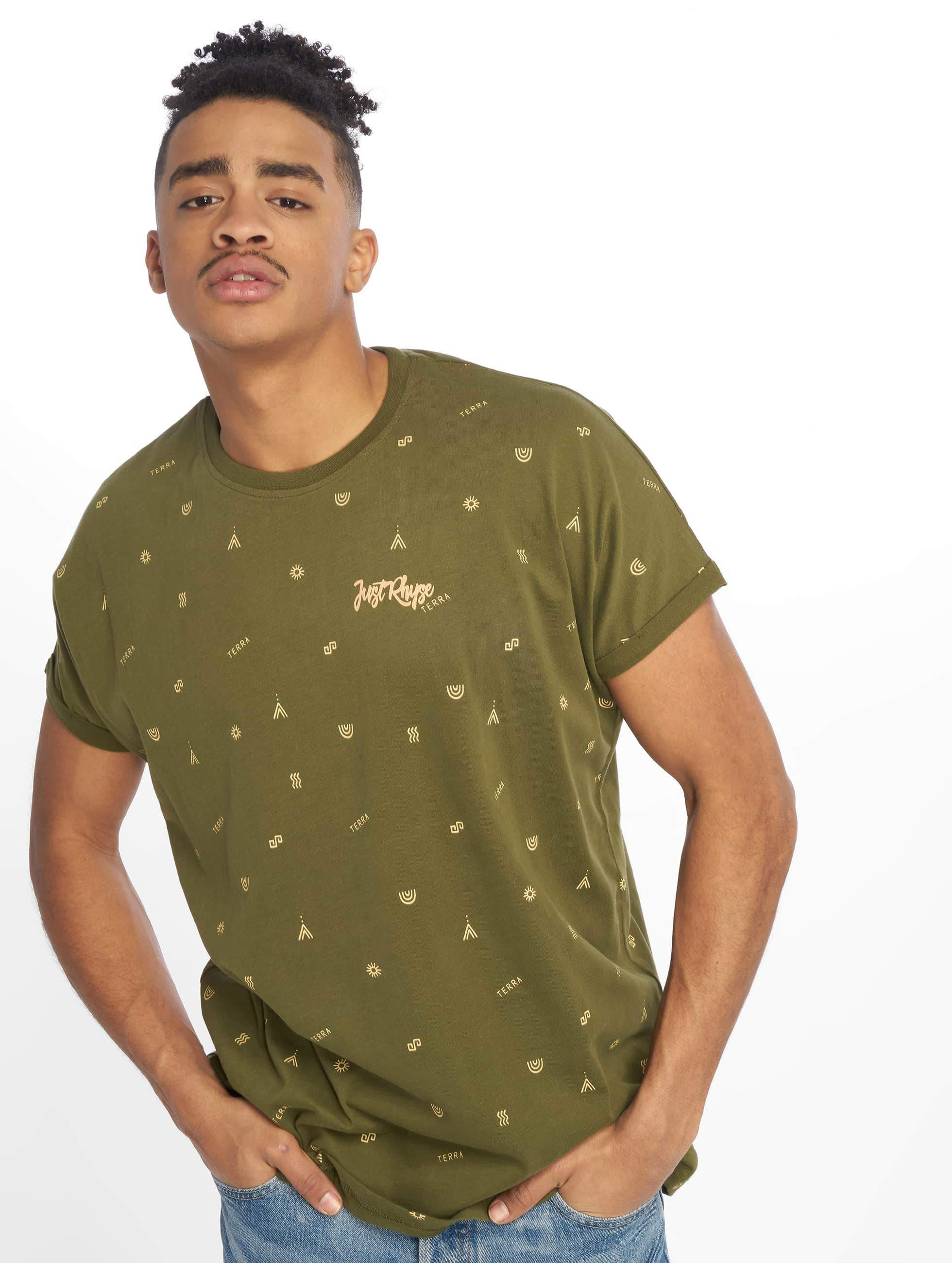 Just Rhyse / T-Shirt San Vicente in olive S