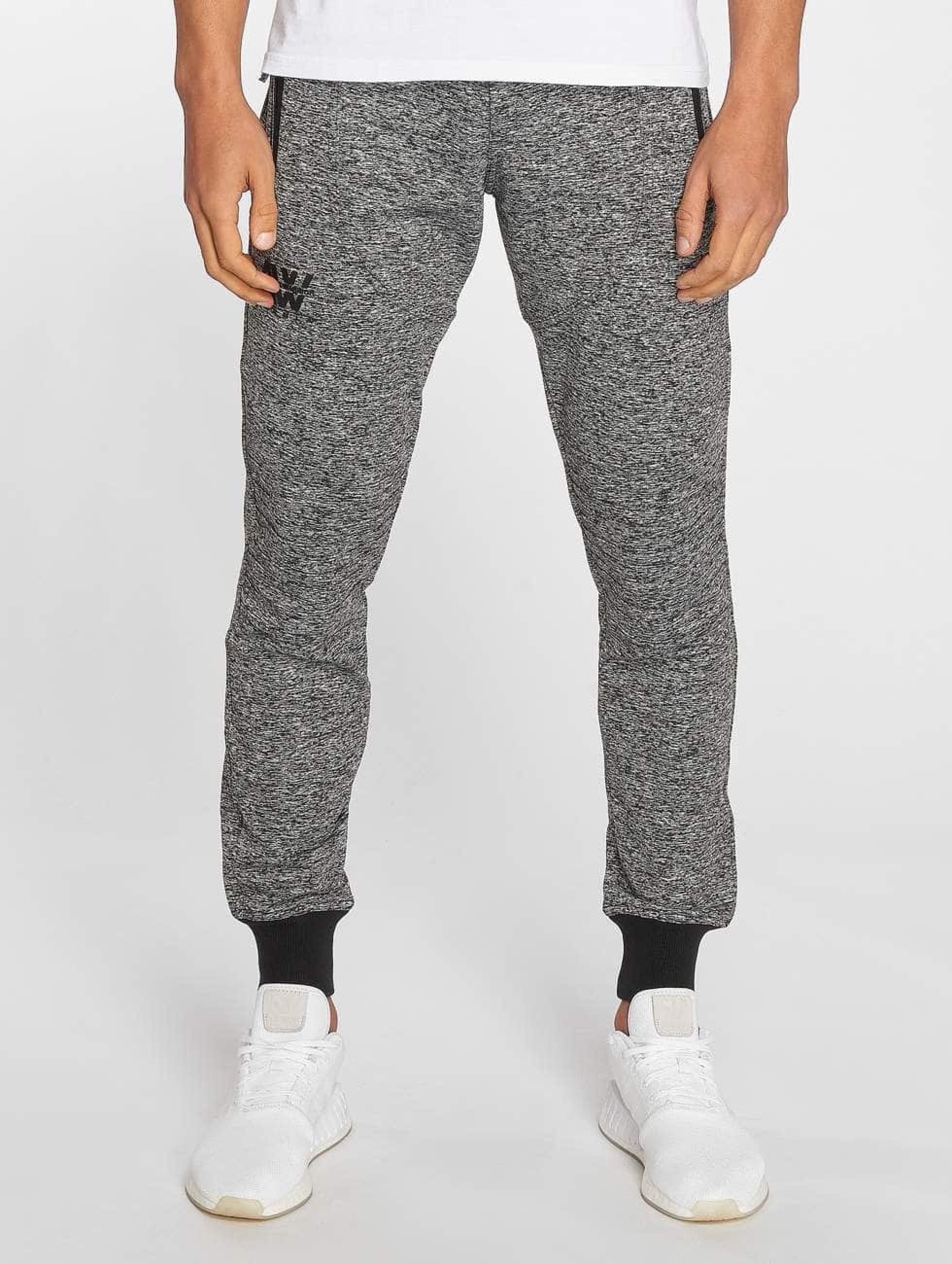 Nebbia | Quilted  gris Homme Pantalons de jogging