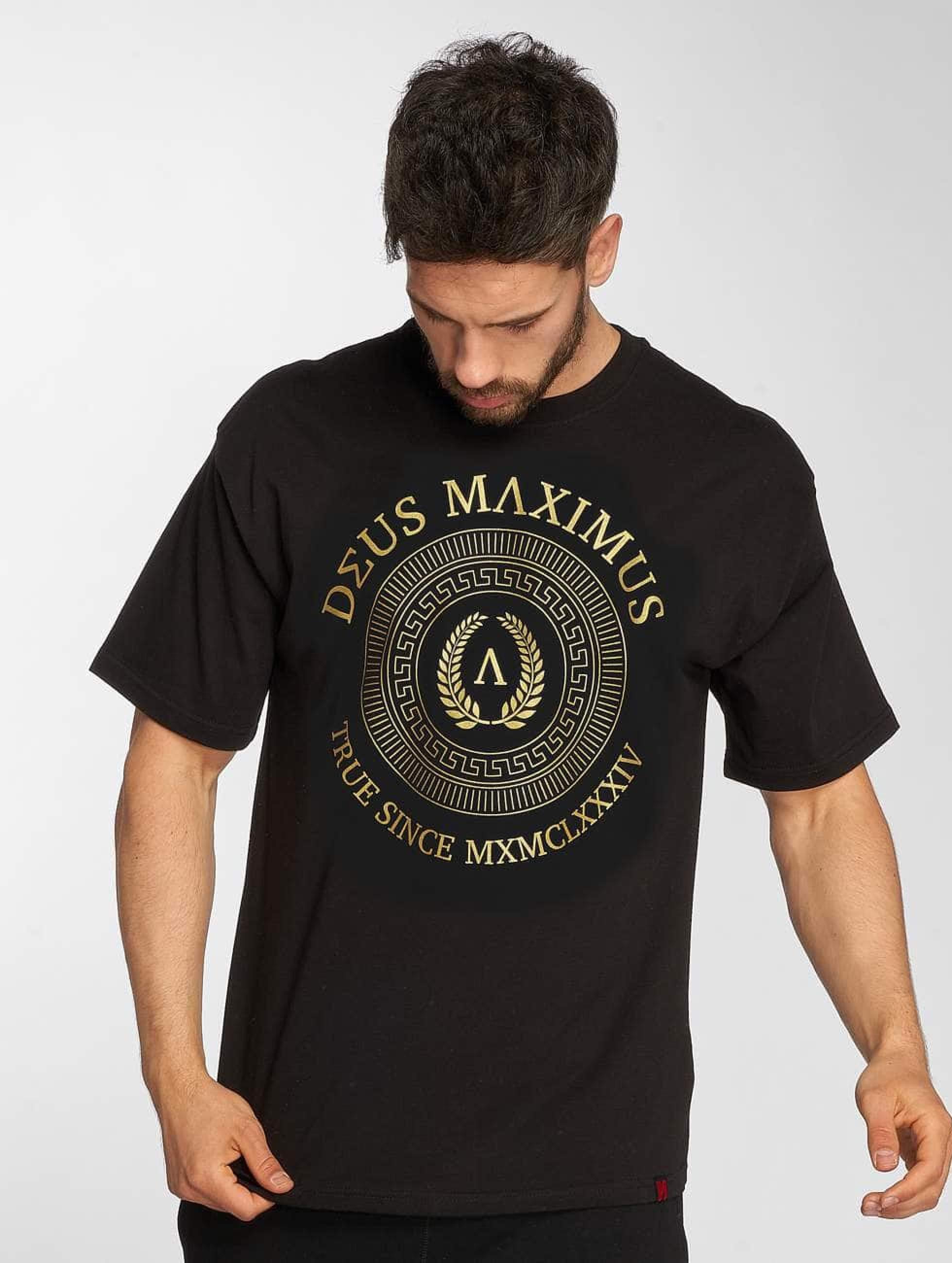 Deus Maximus / T-Shirt Honor in black XL