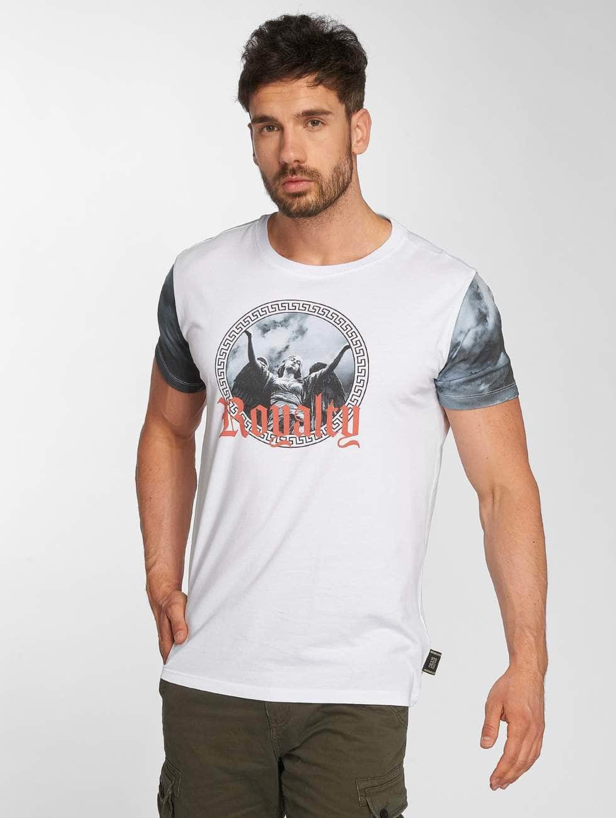 Deus Maximus / T-Shirt Fides in white XL
