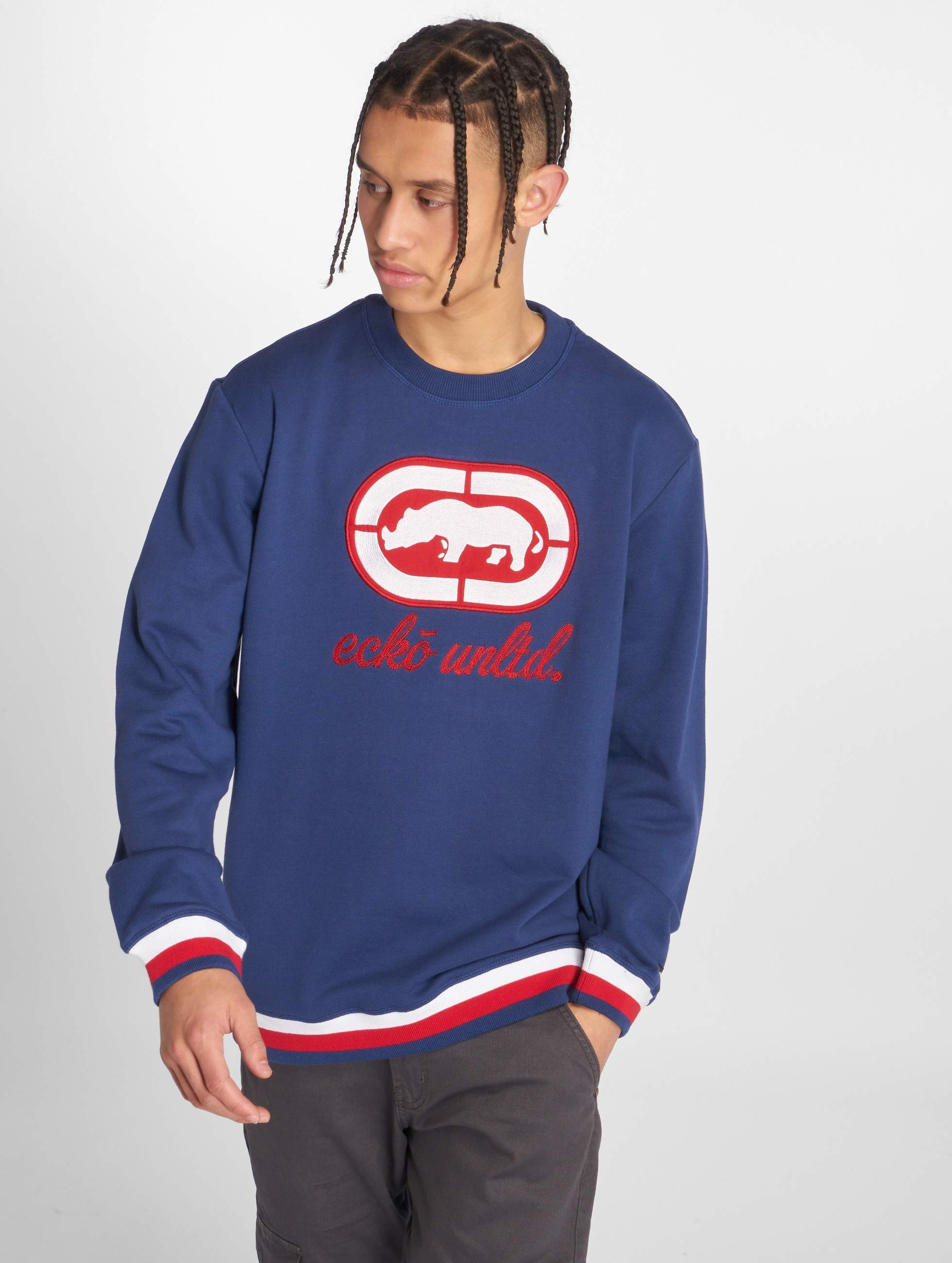 Ecko Unltd. / Jumper Oliver Way in blue S