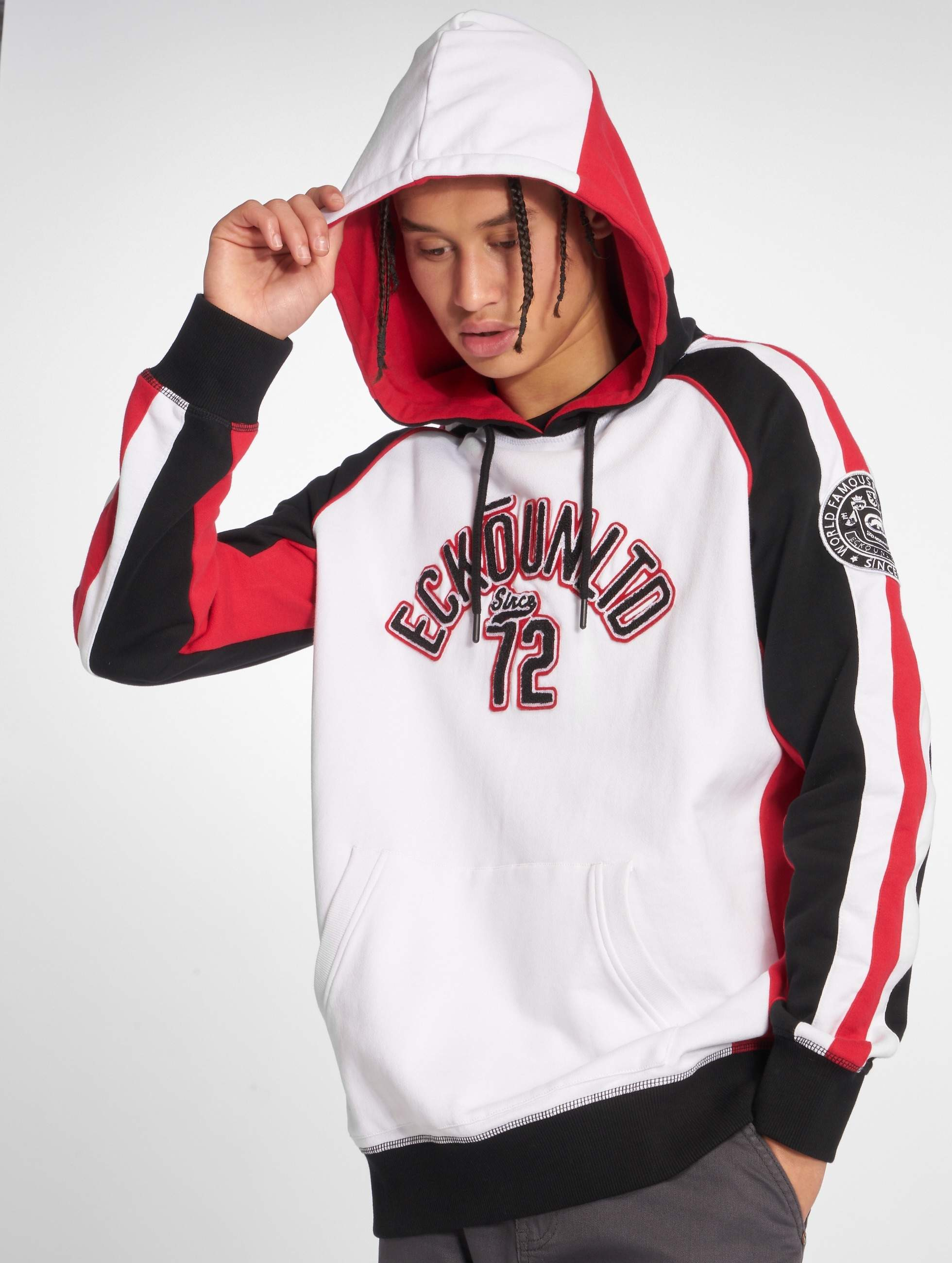 Ecko Unltd. / Hoodie North Redondo in white S