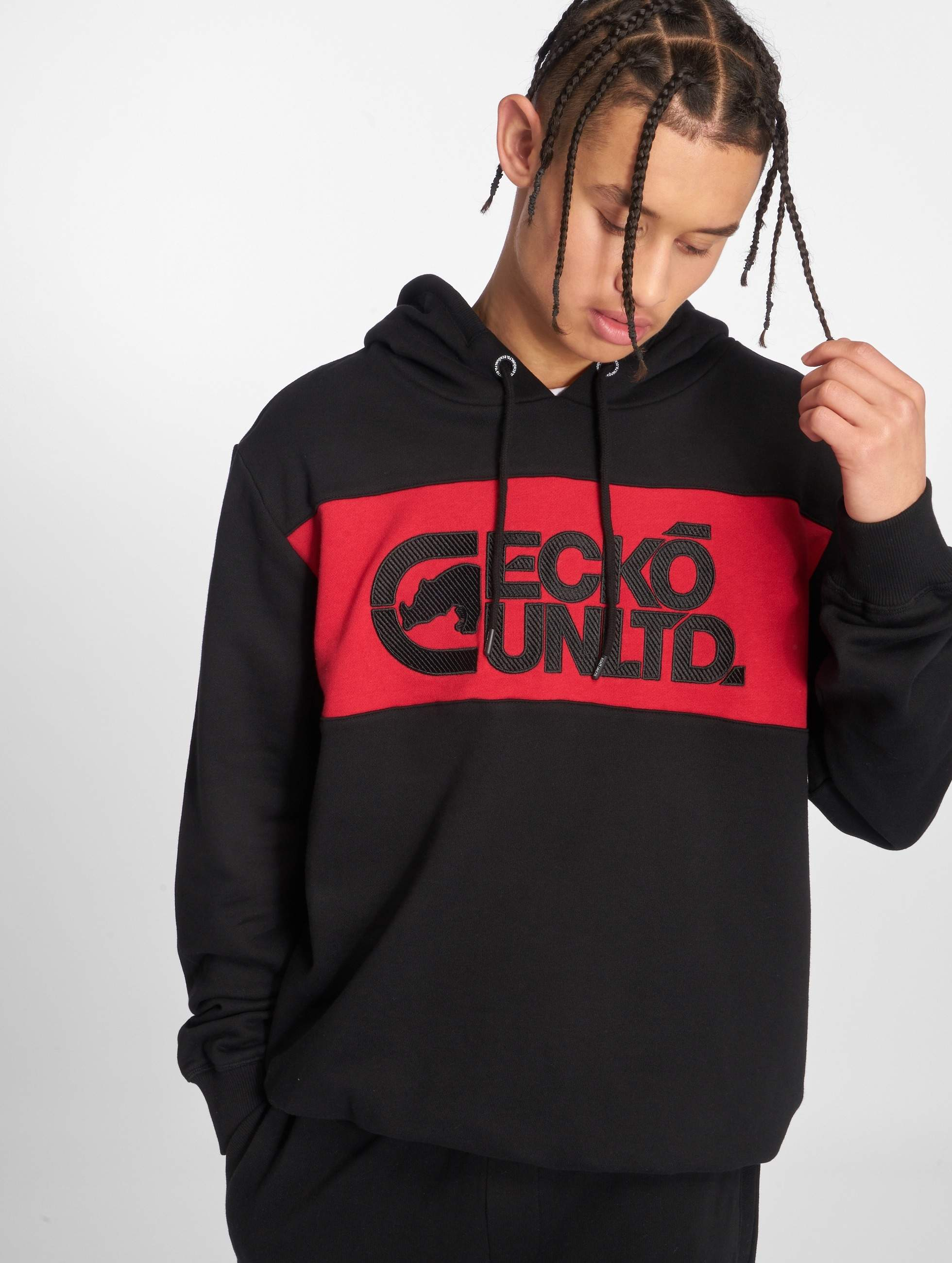 Ecko Unltd. / Hoodie Mr.Hamilton in red M
