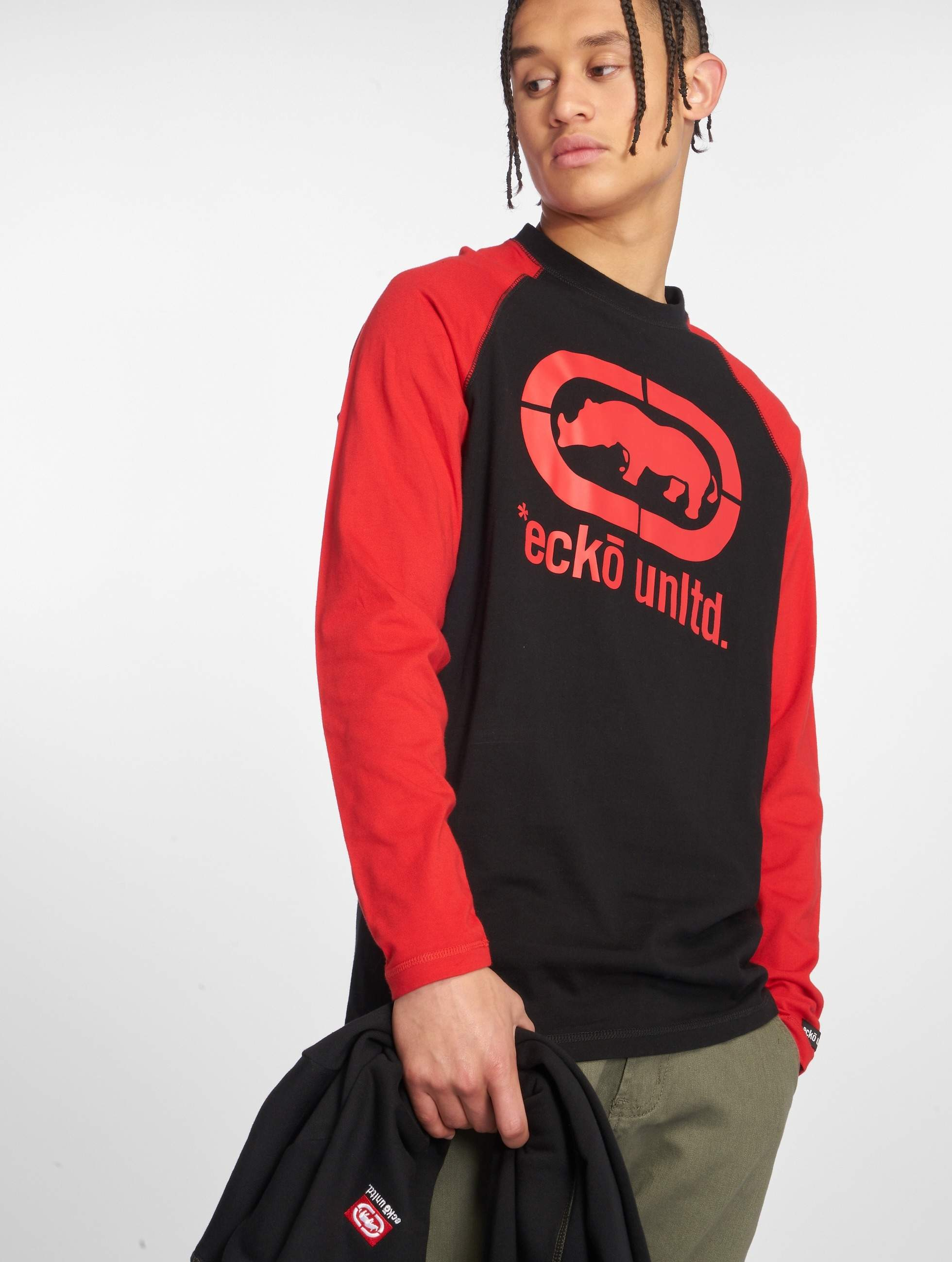 Ecko Unltd. / Longsleeve East Buddy in red 3XL