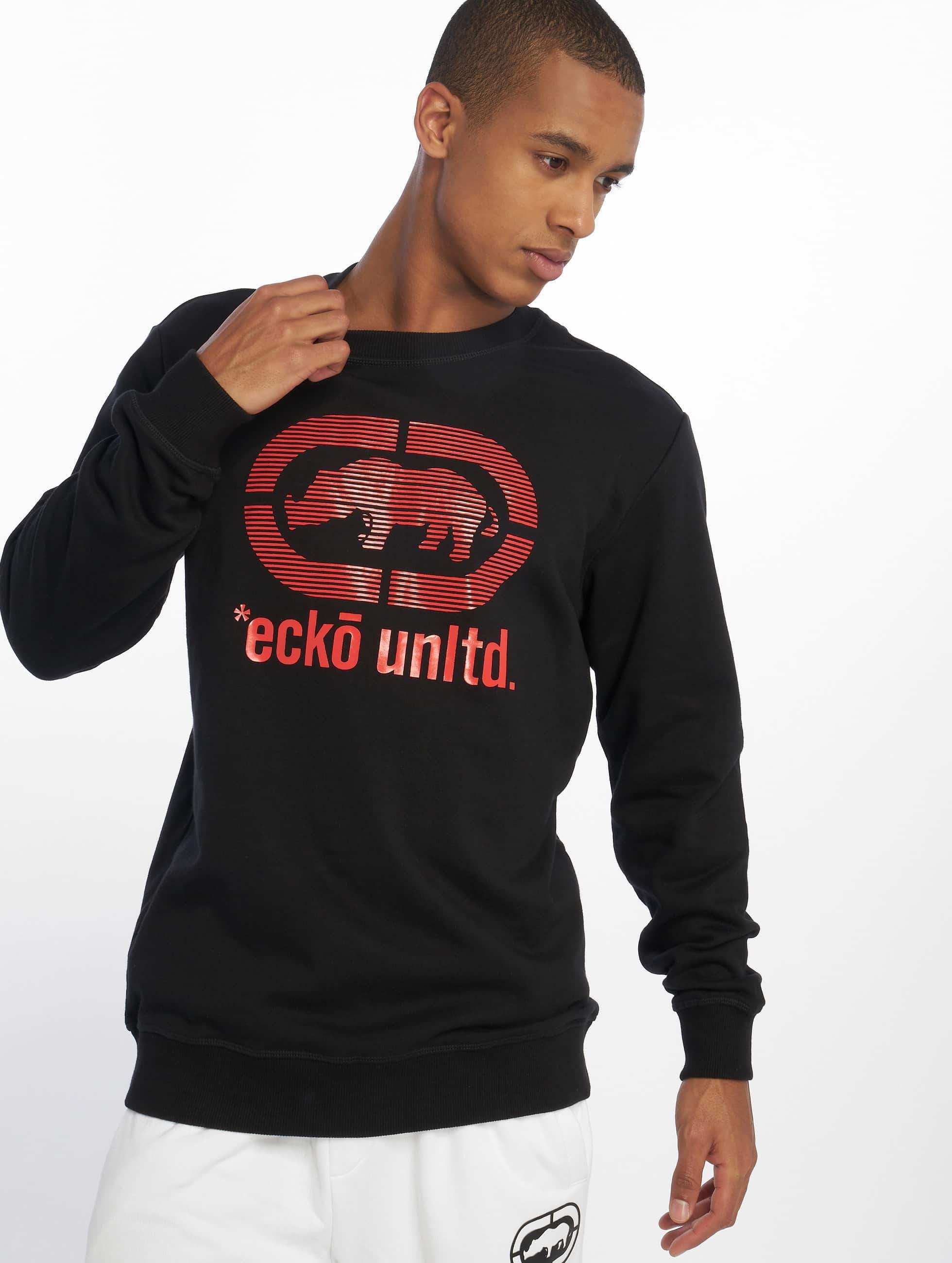 Ecko Unltd. / Jumper West Buddy in black 3XL