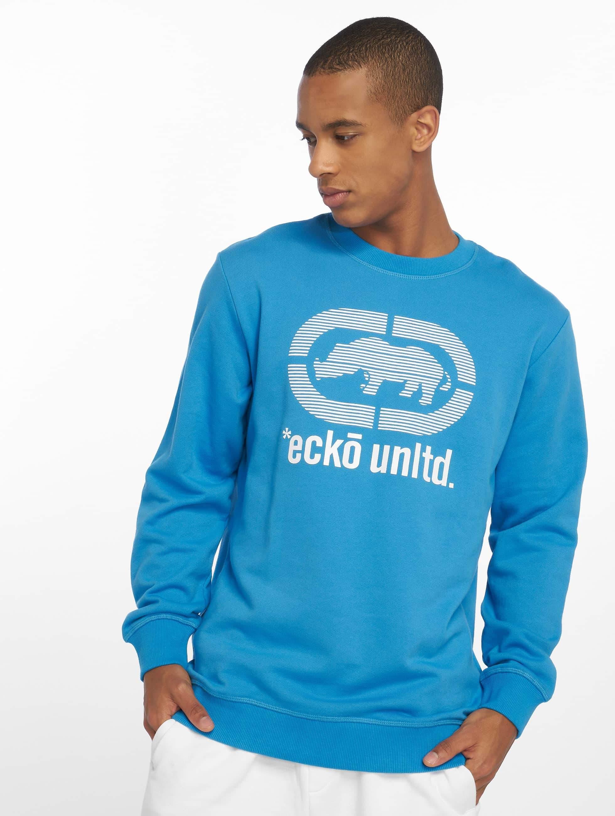 Ecko Unltd. / Jumper West Buddy in blue 2XL