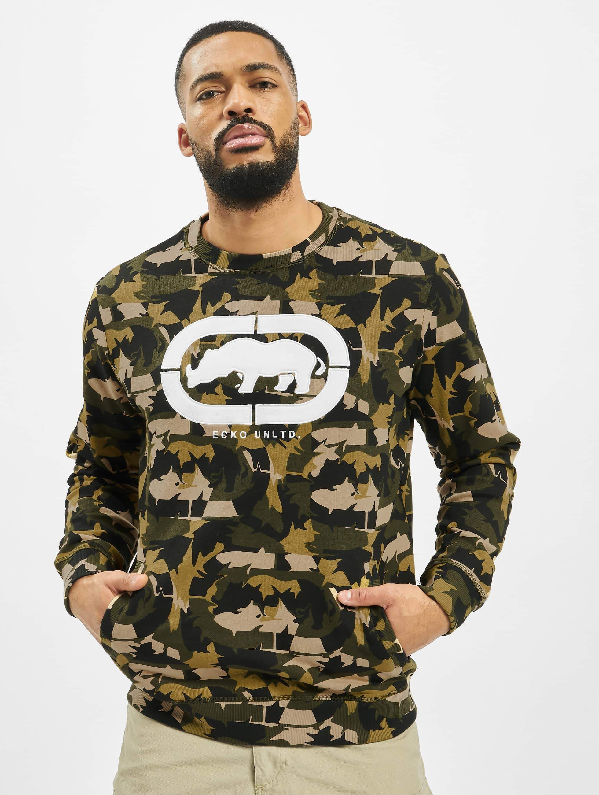 Ecko Unltd. / Jumper Inglewood in camouflage XL