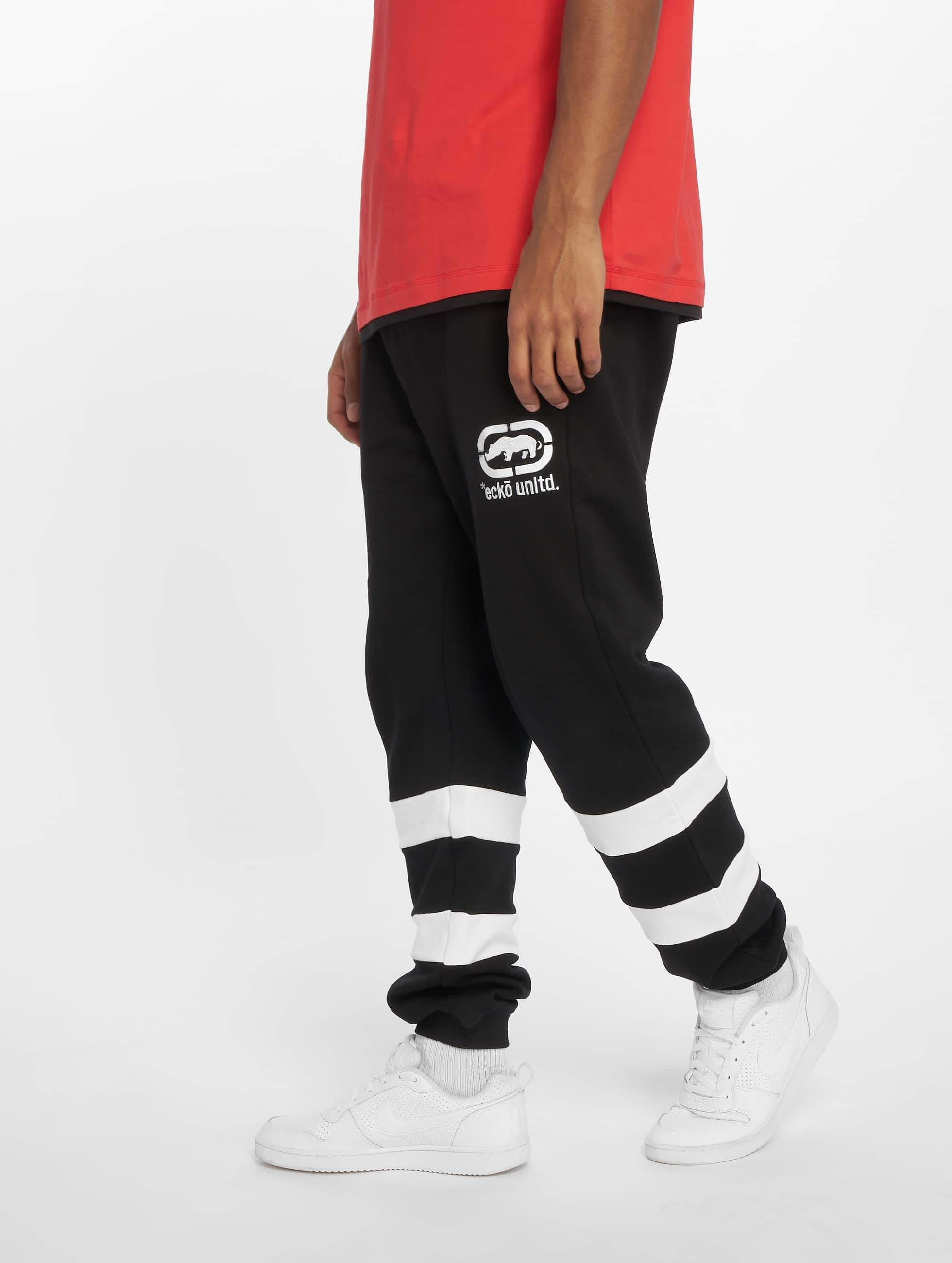 Ecko Unltd. / Sweat Pant East Buddy in black 3XL