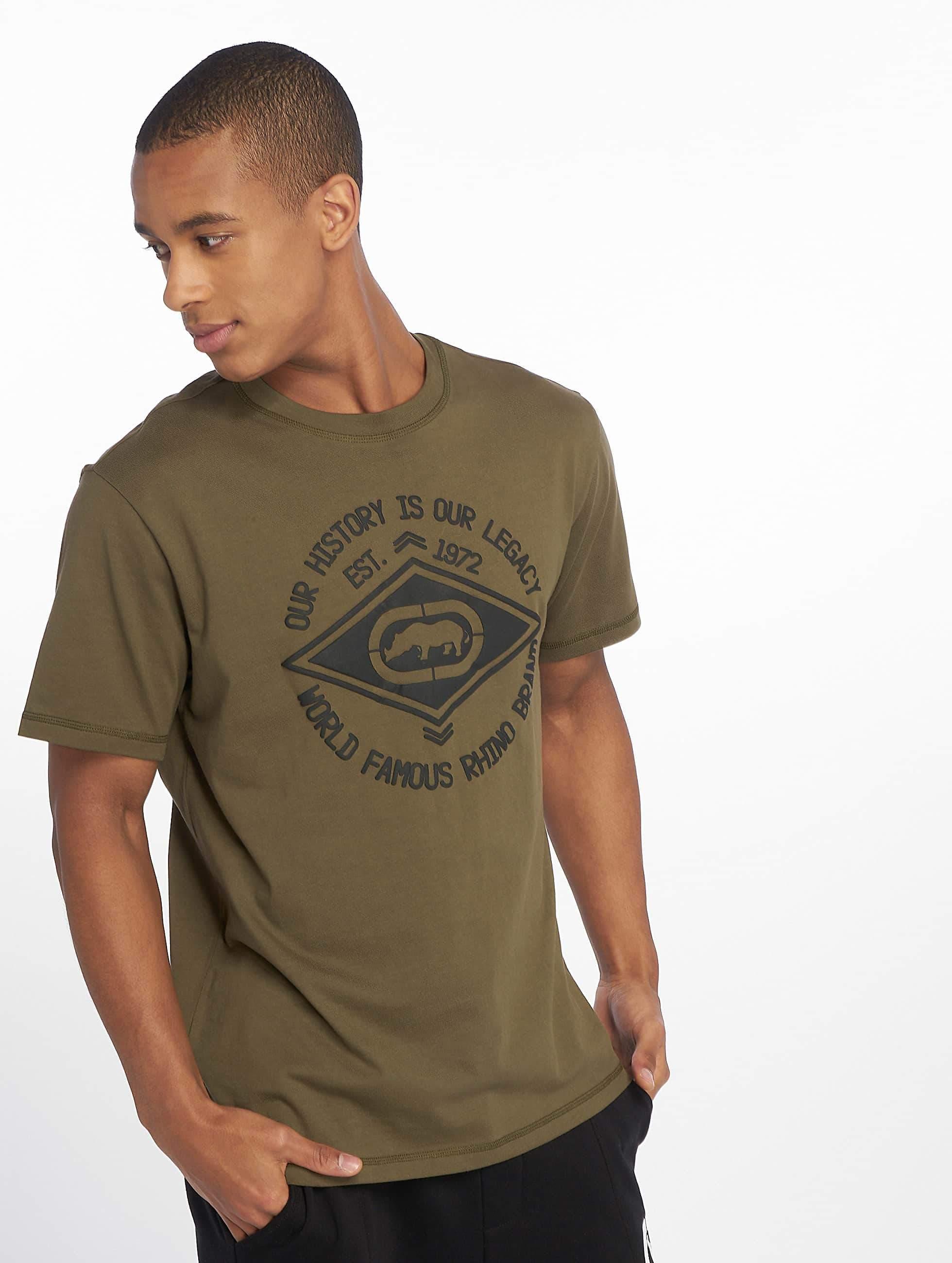 Ecko Unltd. / T-Shirt Inglewood in olive S