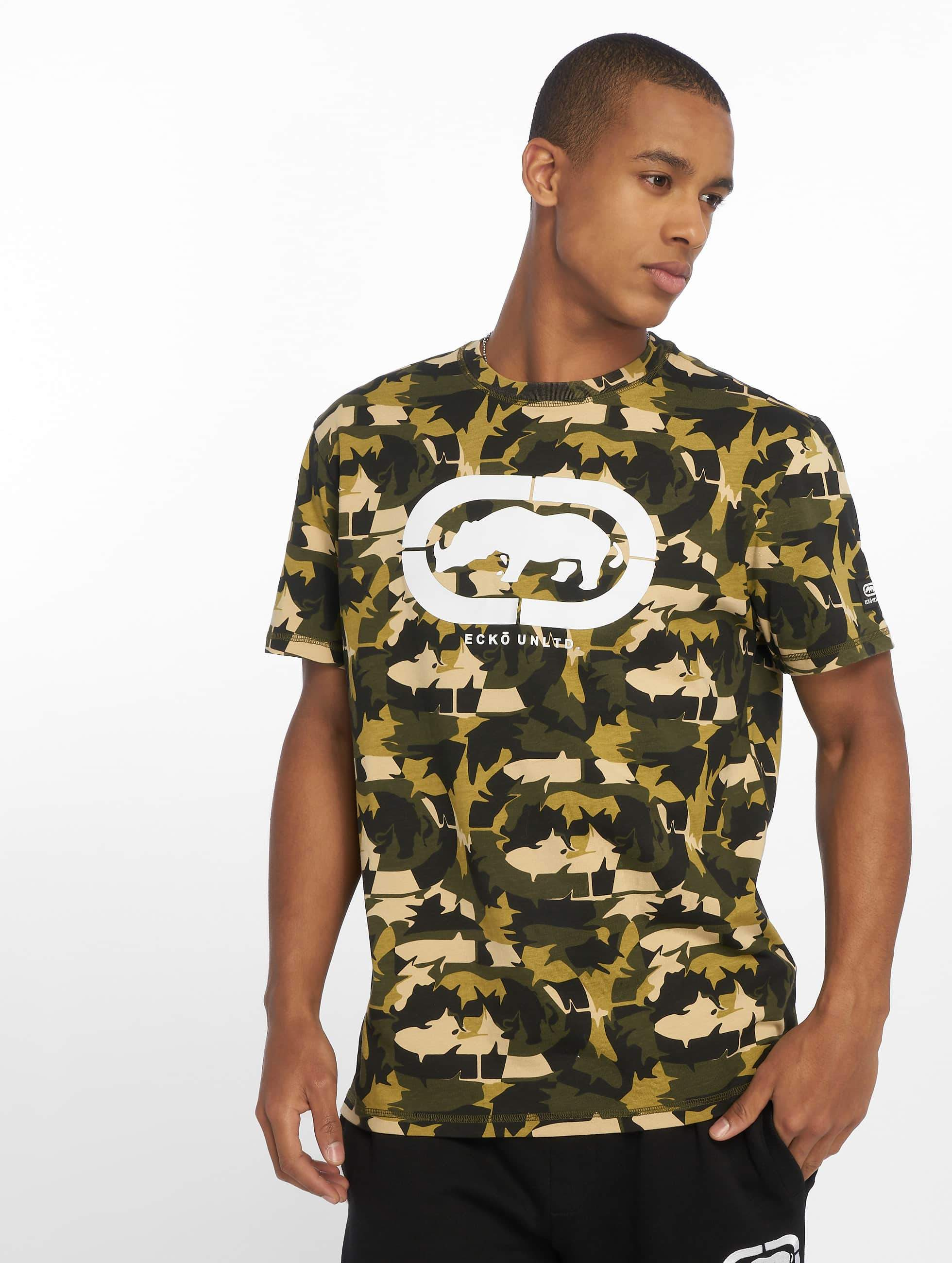 Ecko Unltd. / T-Shirt Camou and Rhino in camouflage XL