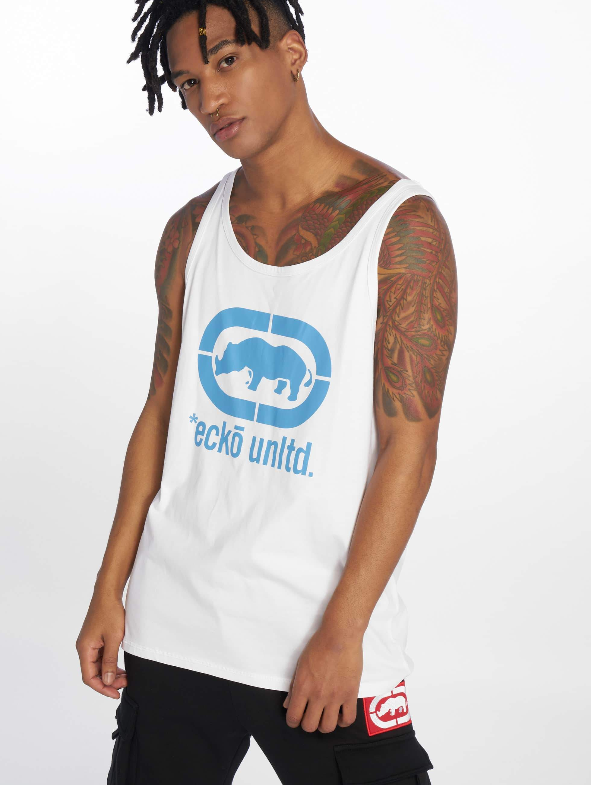 Ecko Unltd. / Tank Tops Best Buddy in white XL