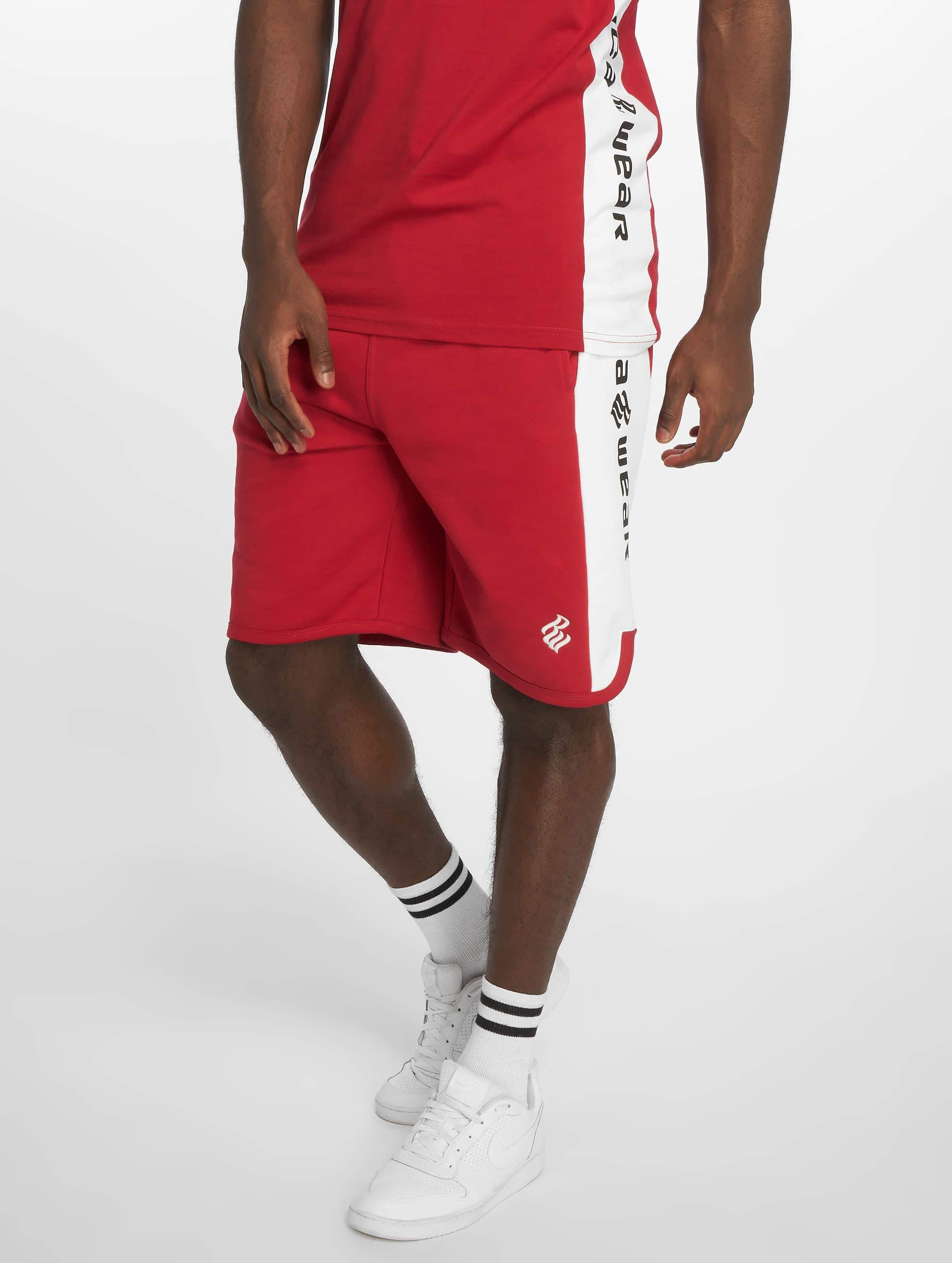 Rocawear / Short Double Logo in red S