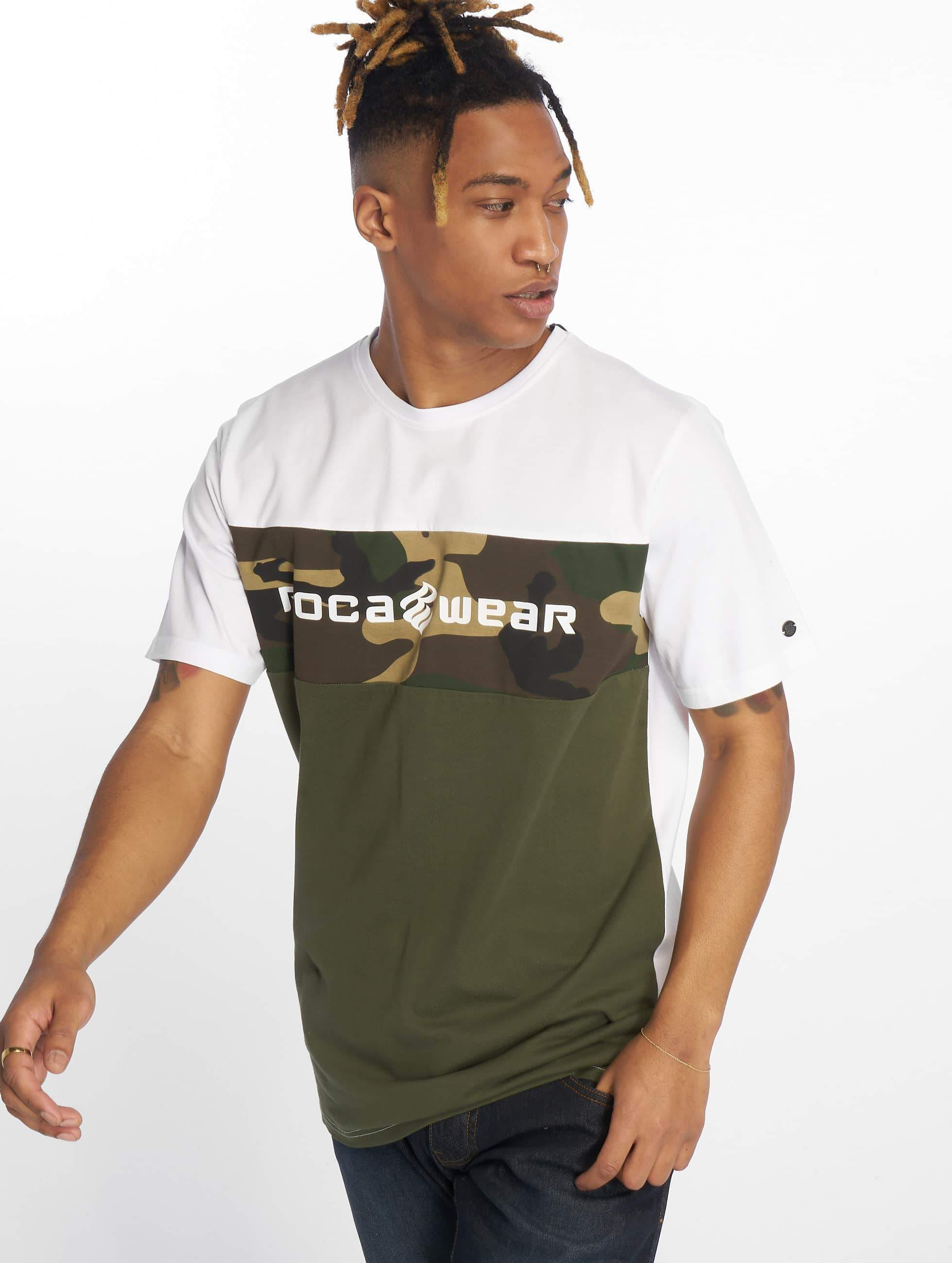 Rocawear / T-Shirt Camo Block in green S